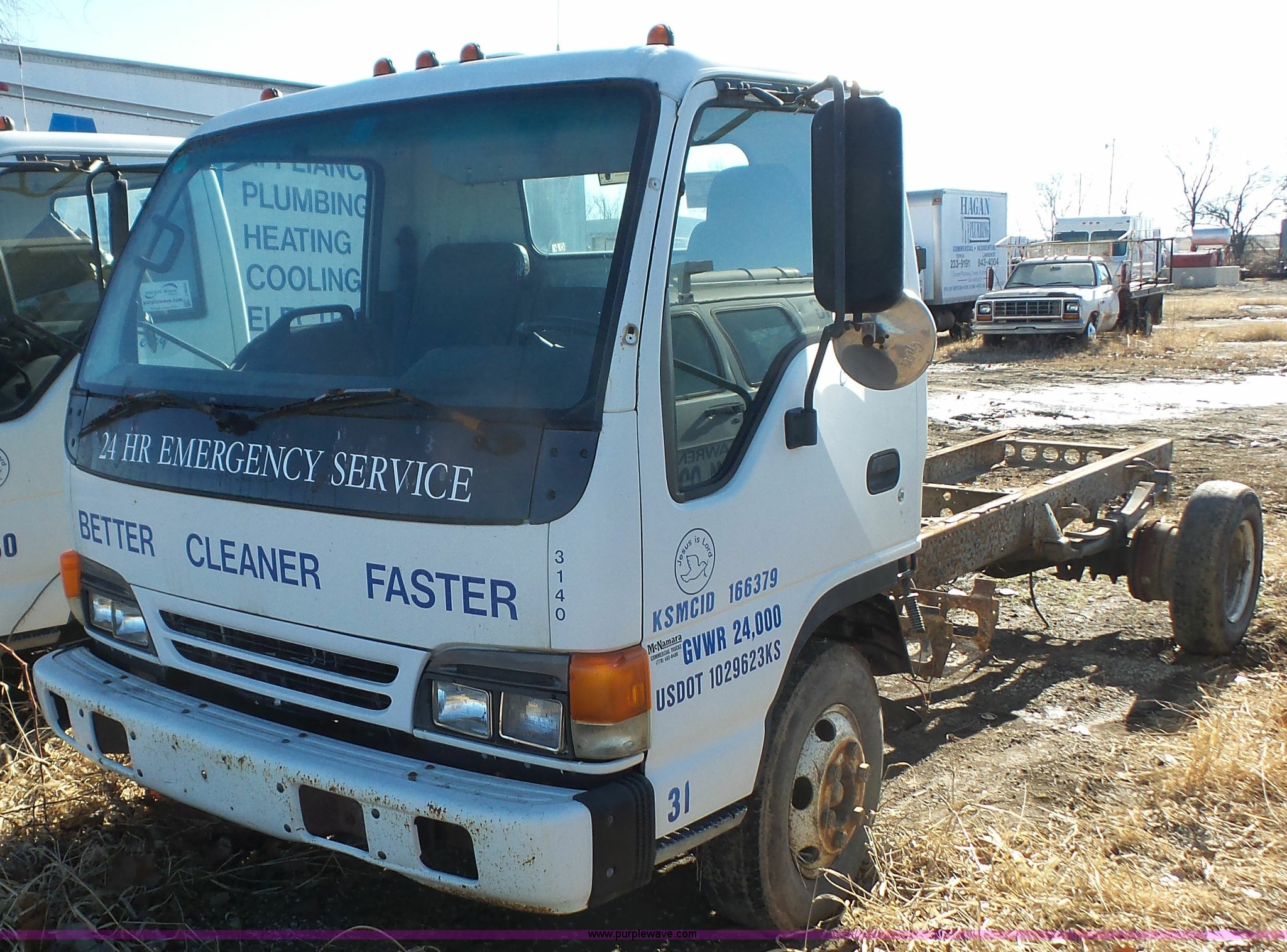 1999 Isuzu NPR Truck Cab And Chassis For Sale In Kansas
