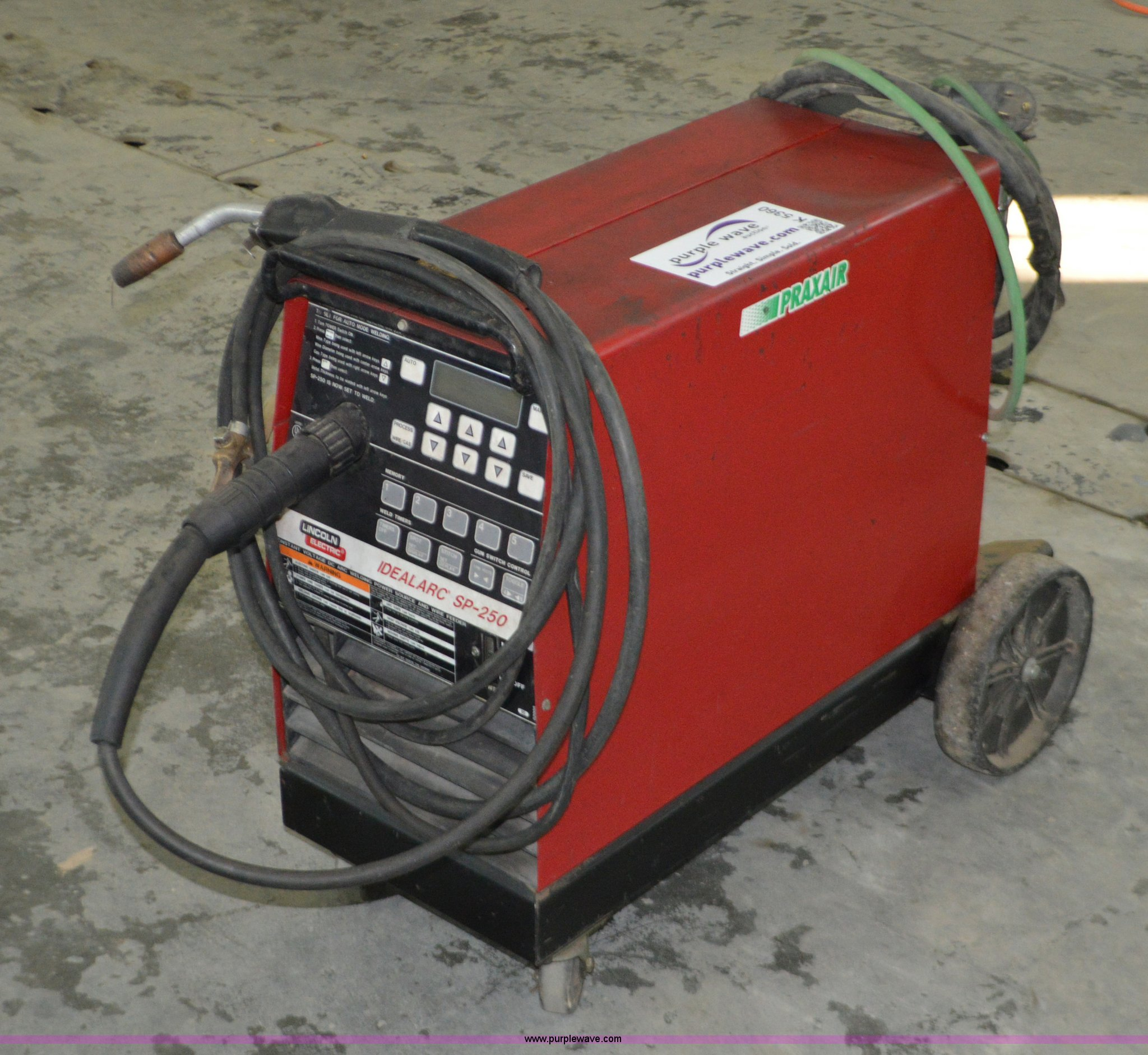 Lincoln Ideal Arc Sp 250 Welder Item K5360 Sold January Idealarc Wiring Diagram Full Size In New Window