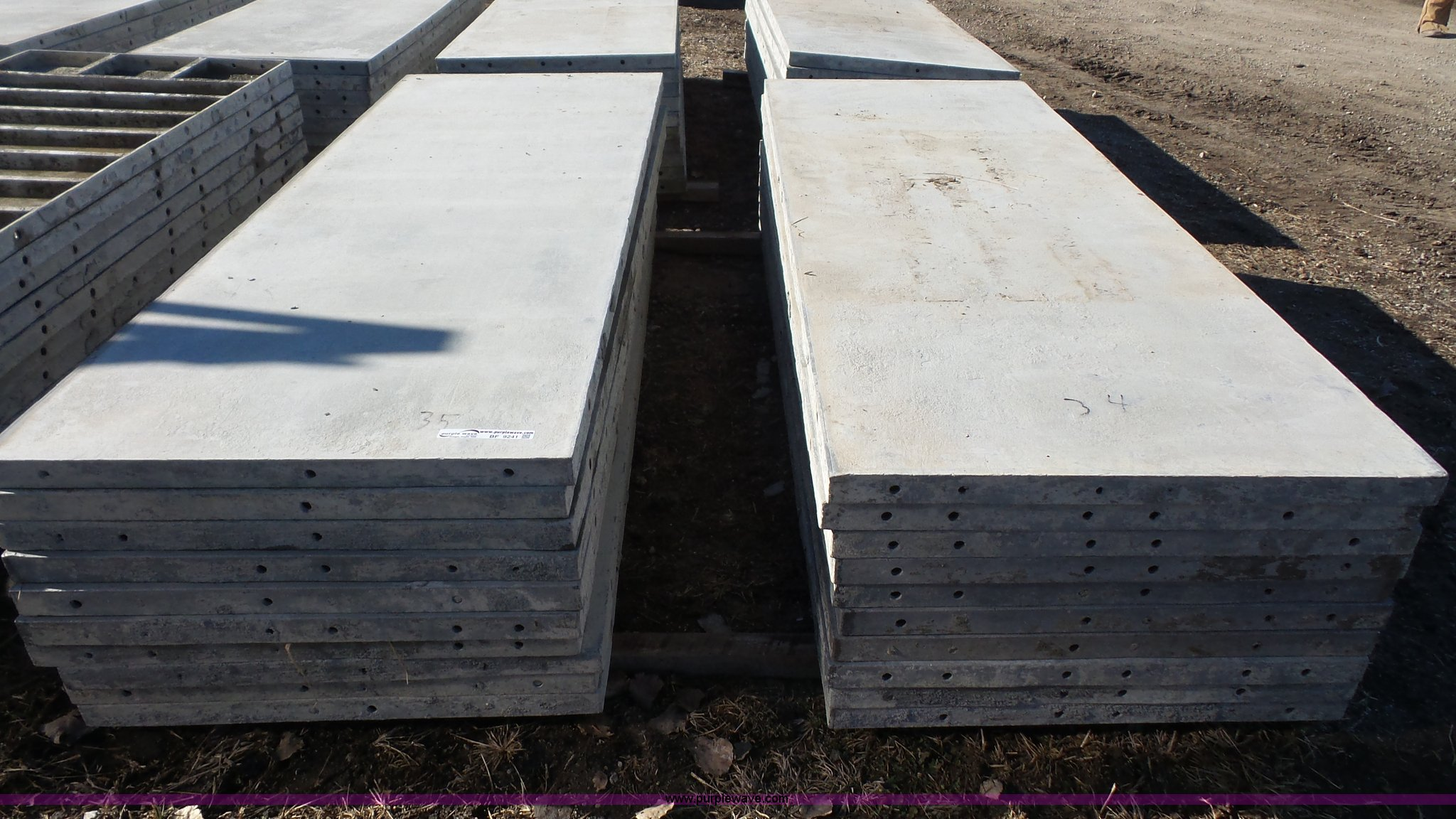 Wall Ties And Forms Aluminum Concrete Form Panels Item