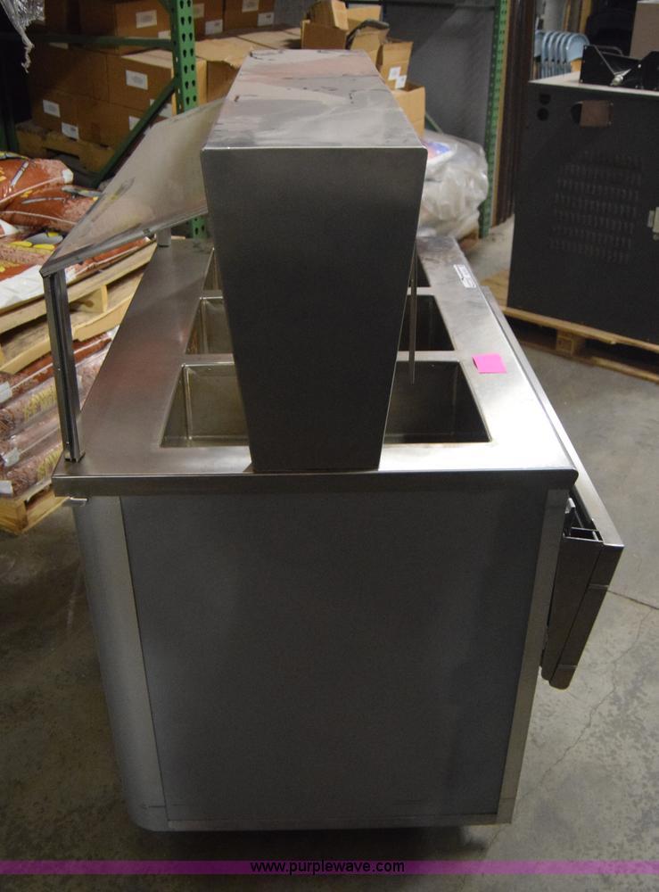 Atlas Metal Three Well Steam Table Item BX SOLD Feb - Three well steam table