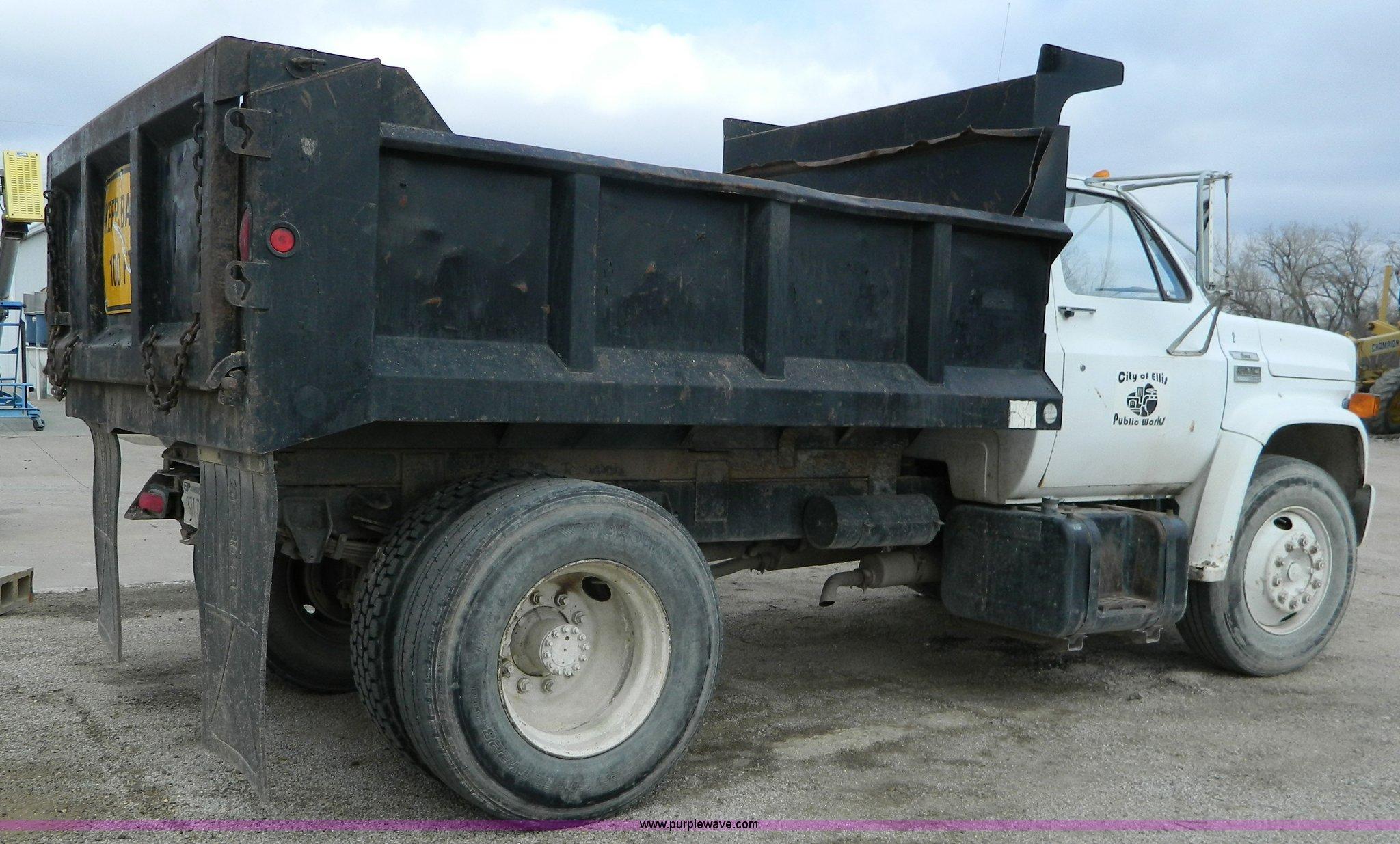1978 Gmc 6500 Dump Truck In Ellis Ks Item L7305 Sold Purple Wave