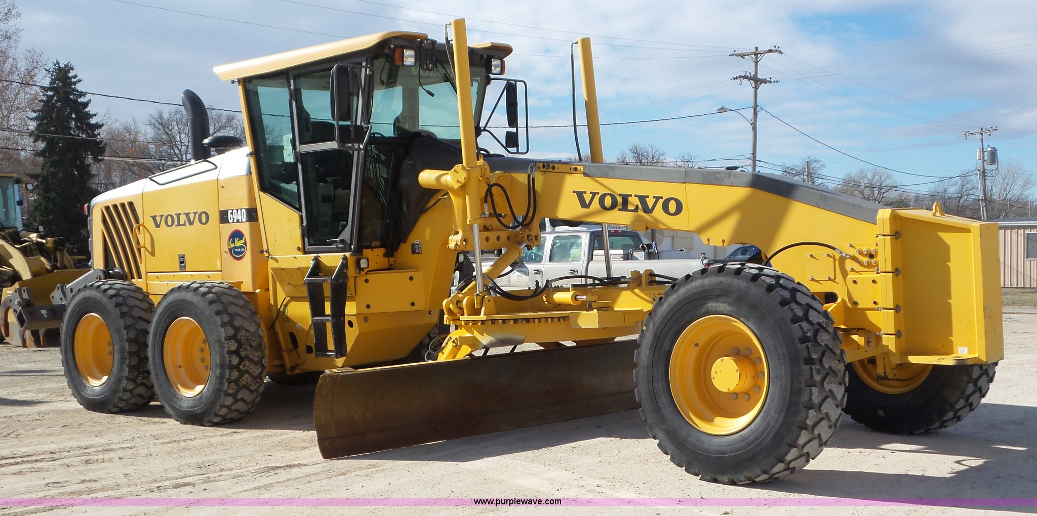 2007 Volvo G940 motor grader | Item J8389 | SOLD! February 1