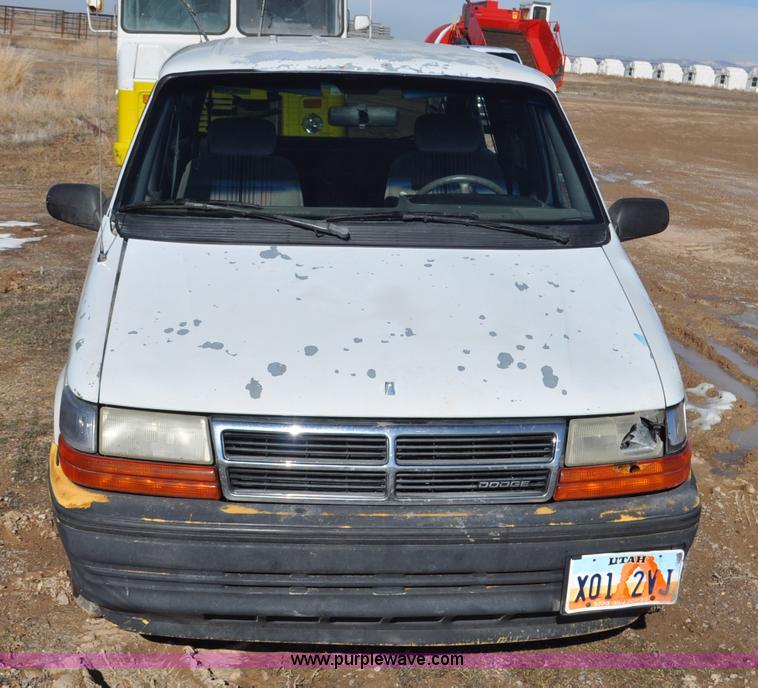 1992 Dodge Caravan LE | Item G7182 | SOLD! February 19 Bliss