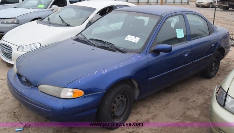 1996 ford contour gl in wichita ks item l1070 sold purple wave 1996 ford contour gl in wichita ks