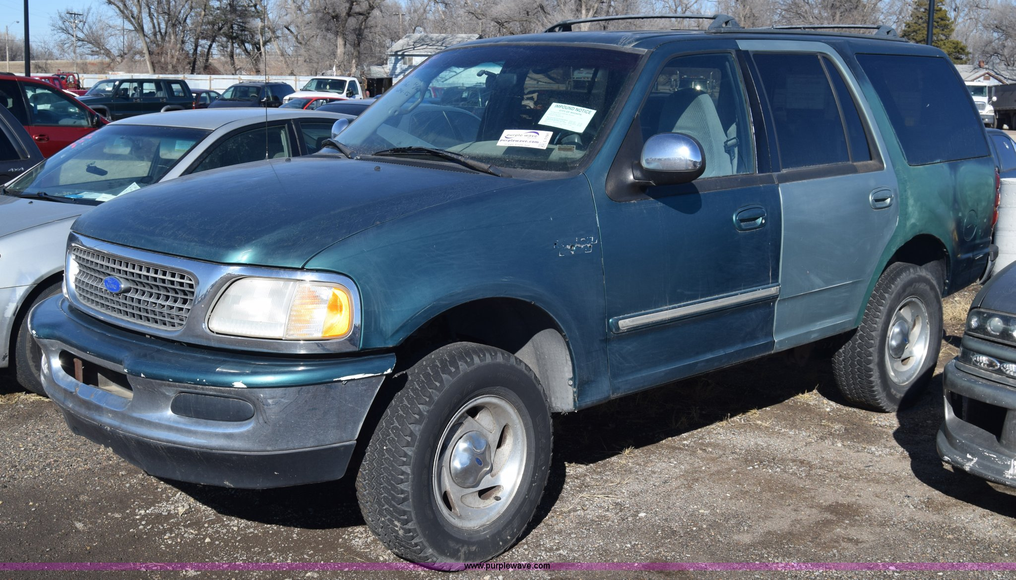 L1191 image for item l1191 1997 ford expedition suv