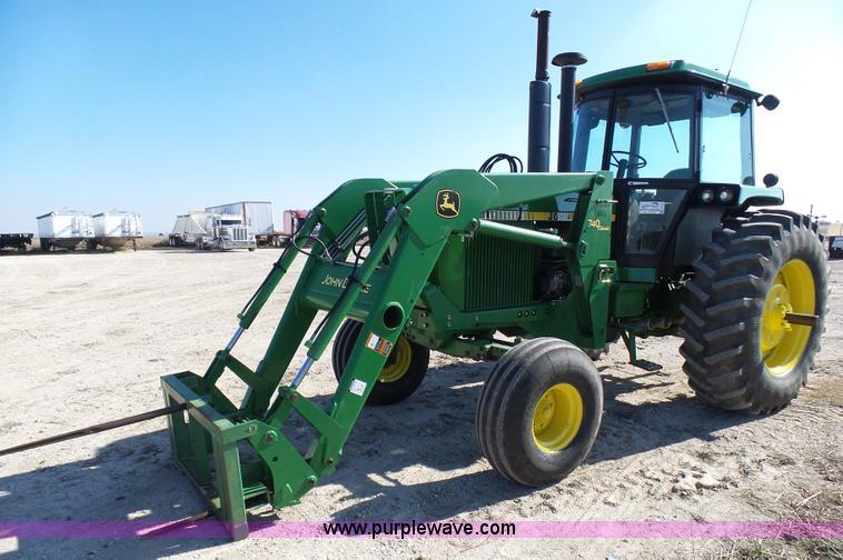 John Deere 740 Tractor : John deere tractor item l sold february