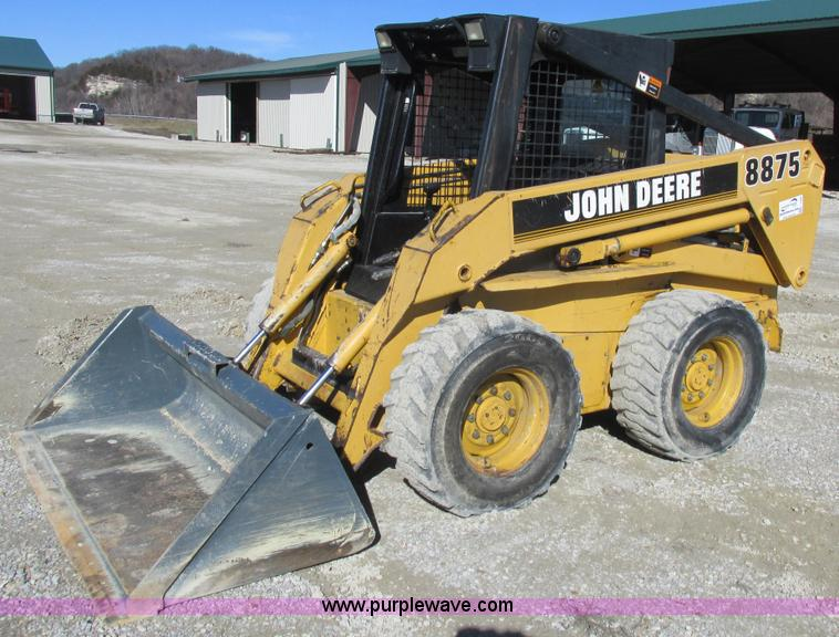 1997 John Deere 8875 Skid Steer Item L7098 Sold Februar. L7098 For Item 1997 John Deere 8875 Skid Steer. John Deere. 8875 John Deere Wiring Schematic At Scoala.co