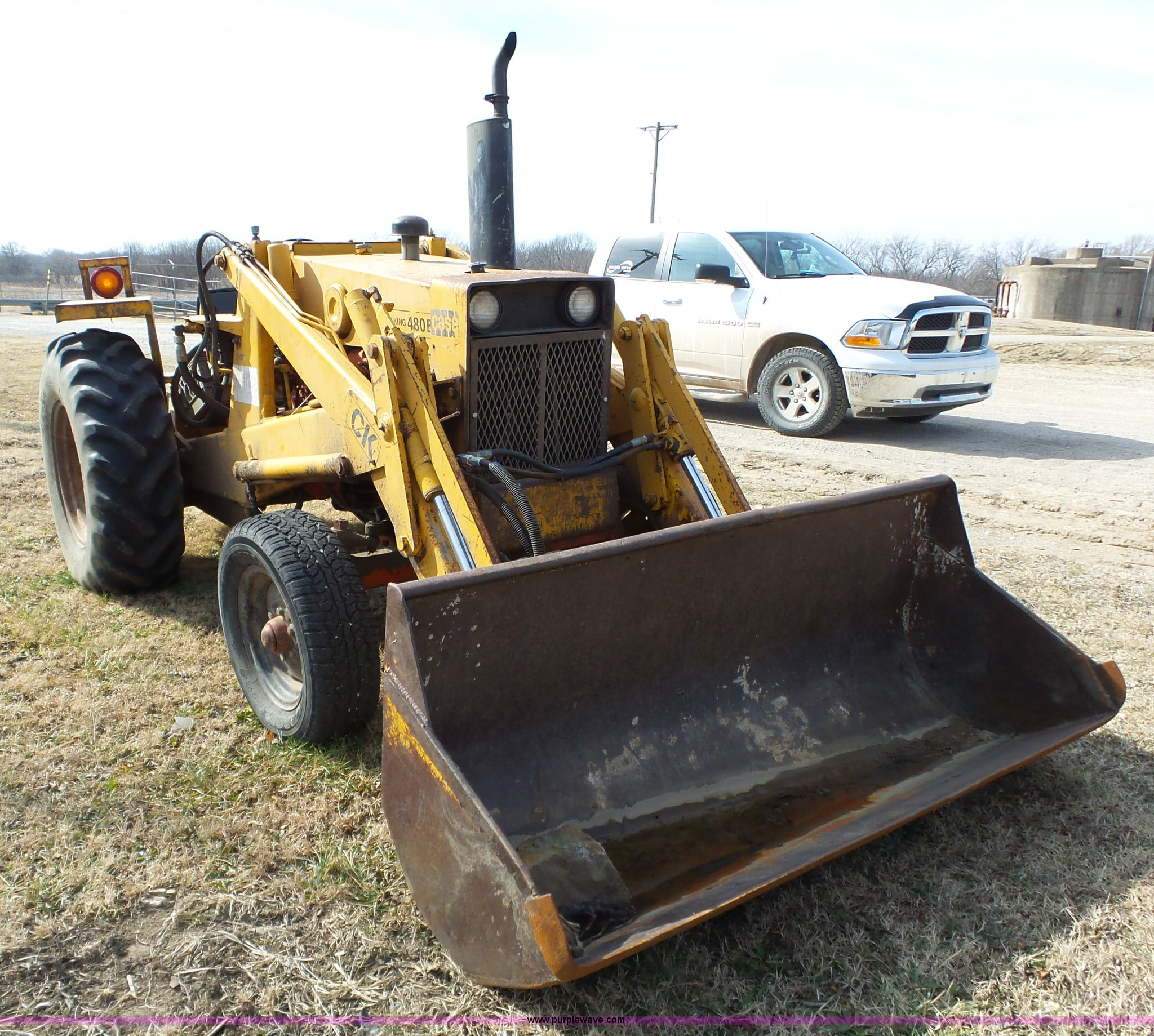 Case 480b Tractor