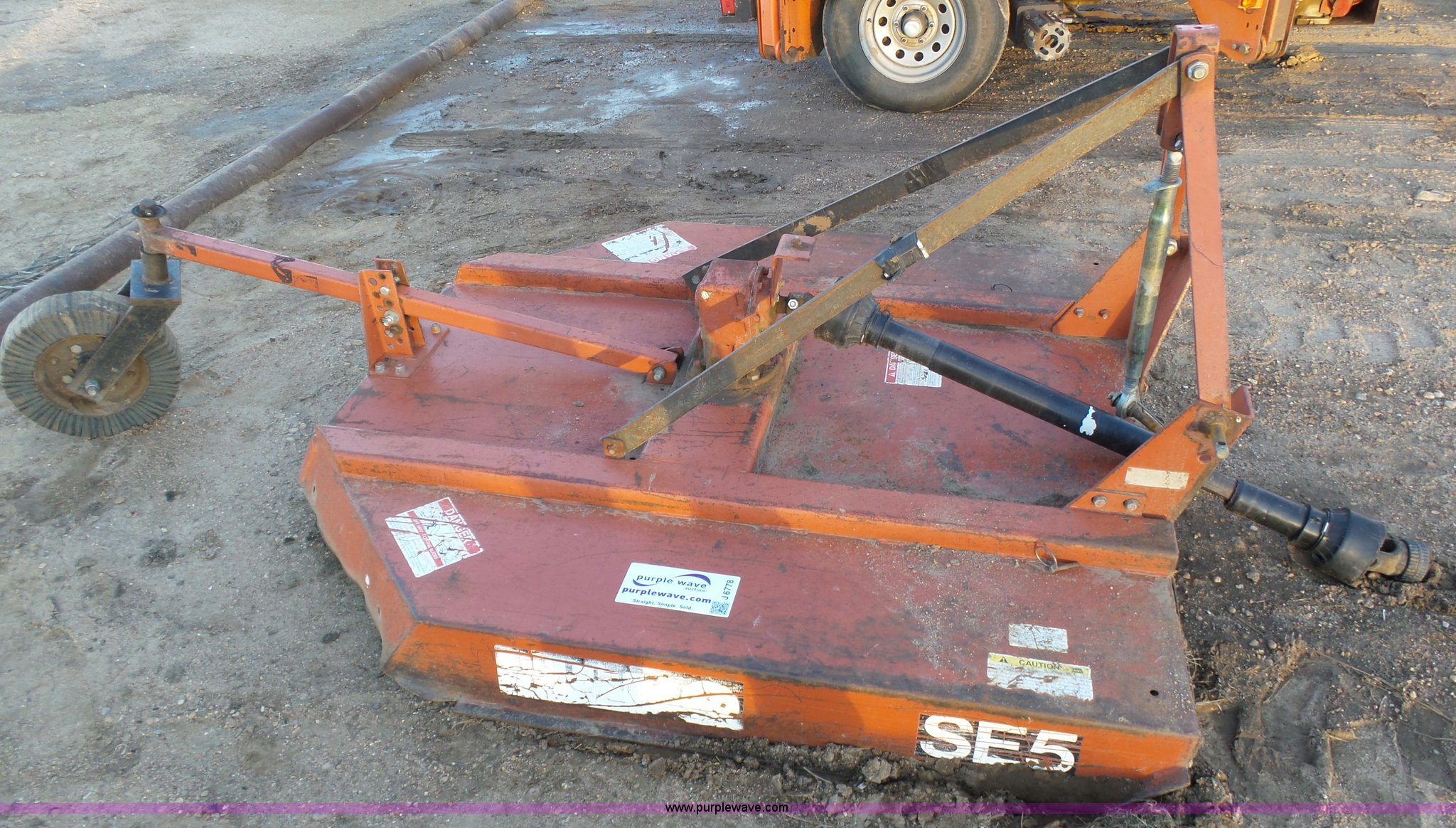 Rhino SE5 rotary mower | Item J6778 | SOLD! March 2 Gilmores