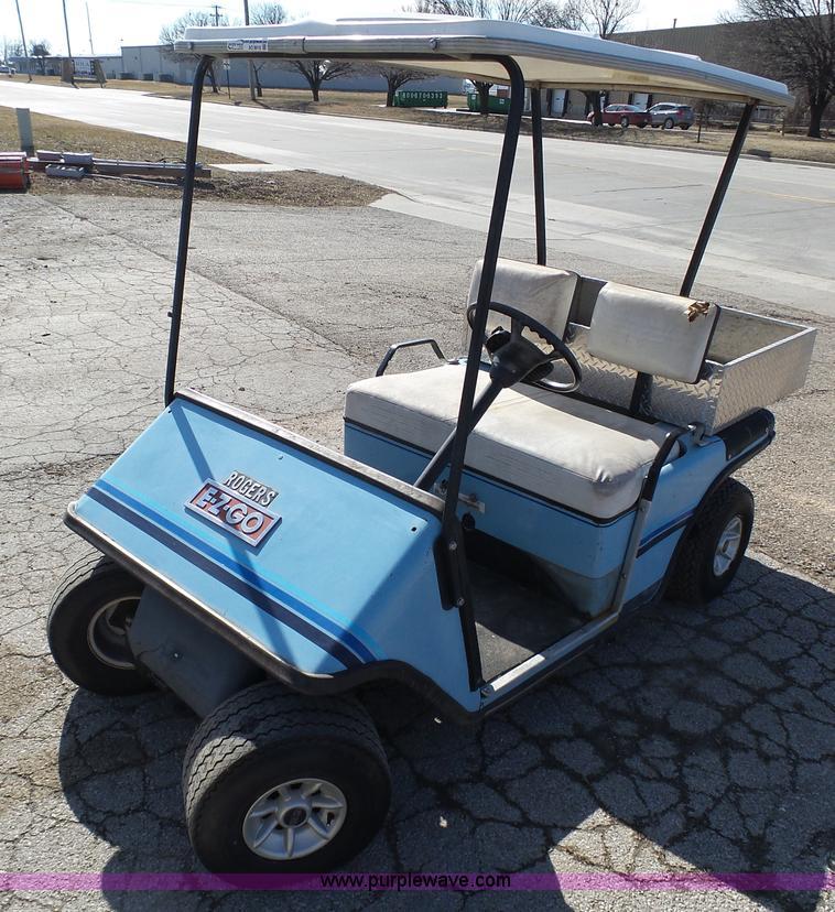 1985 Ez-go golf cart | Item AO9910 | 3-9-2016