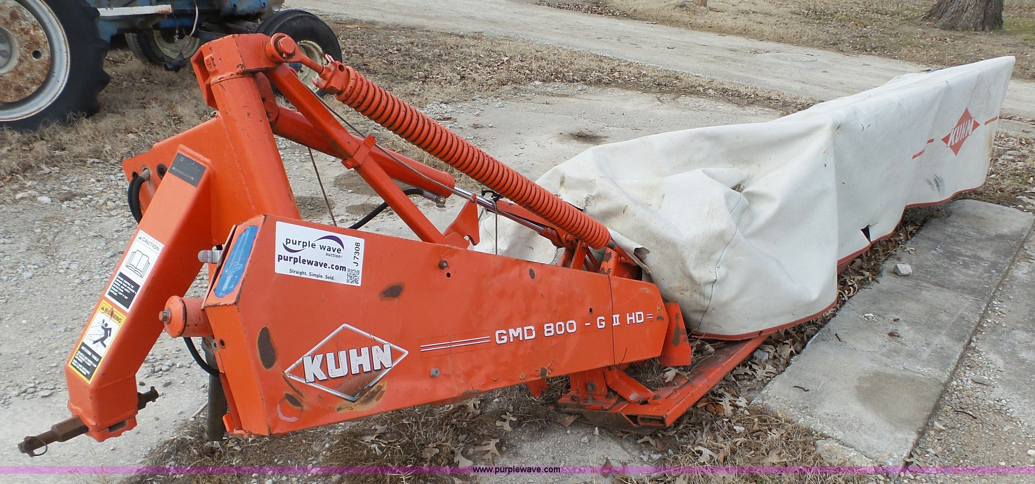 ... Kuhn disc mower Full size in new window ...