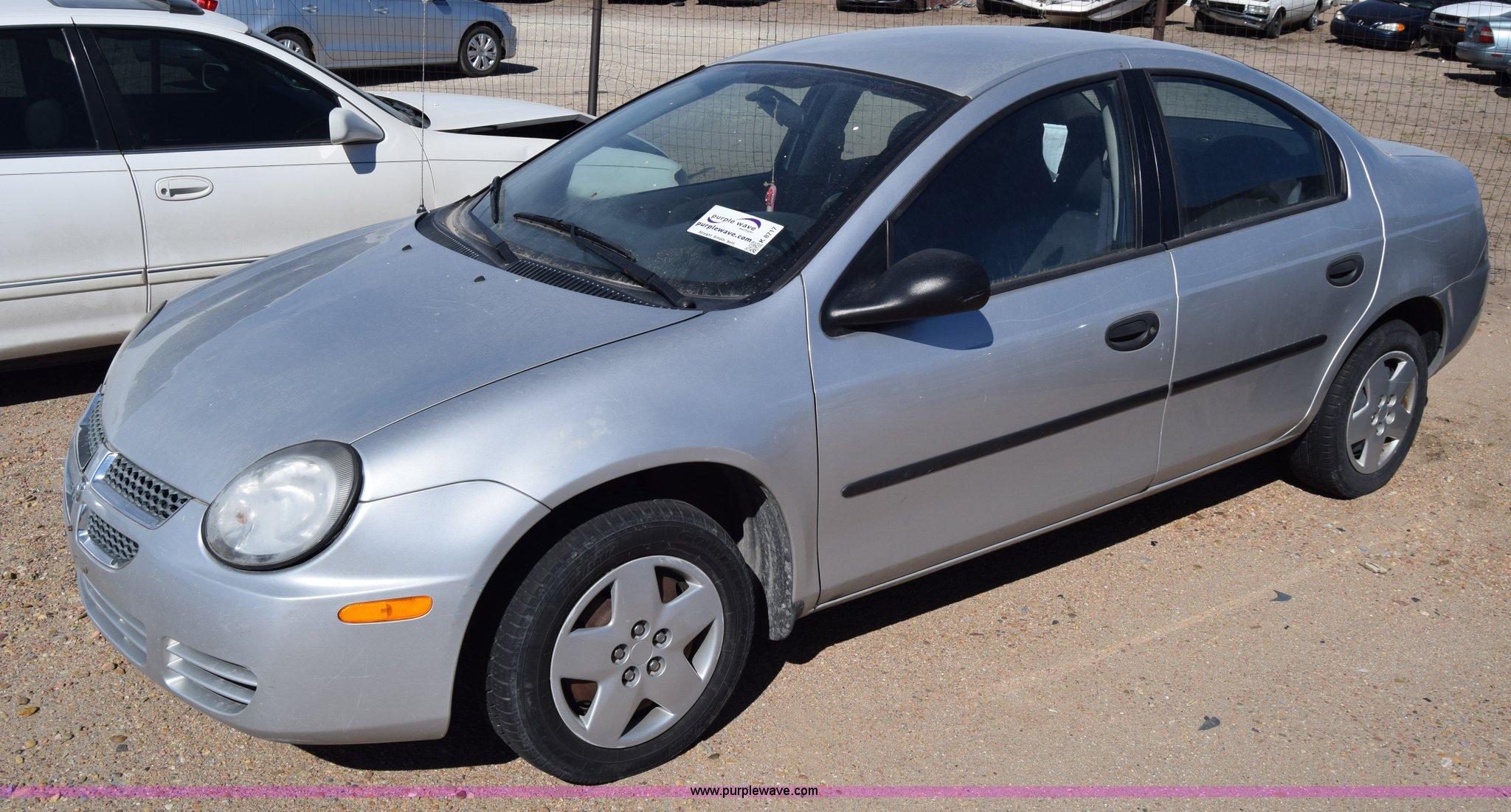 K8717 image for item K8717 2003 Dodge Neon
