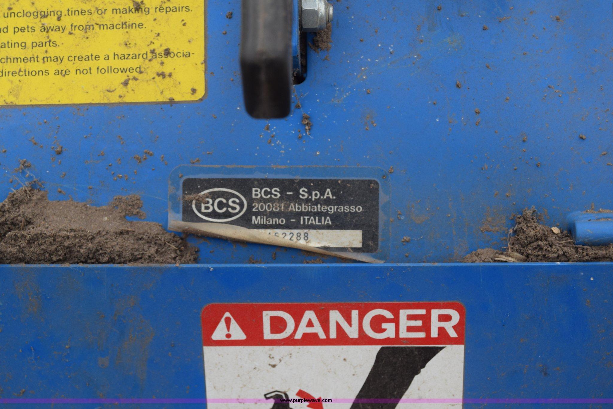 BCS 730 tiller | Item BX9839 | SOLD! March 16 Ag Equipment A
