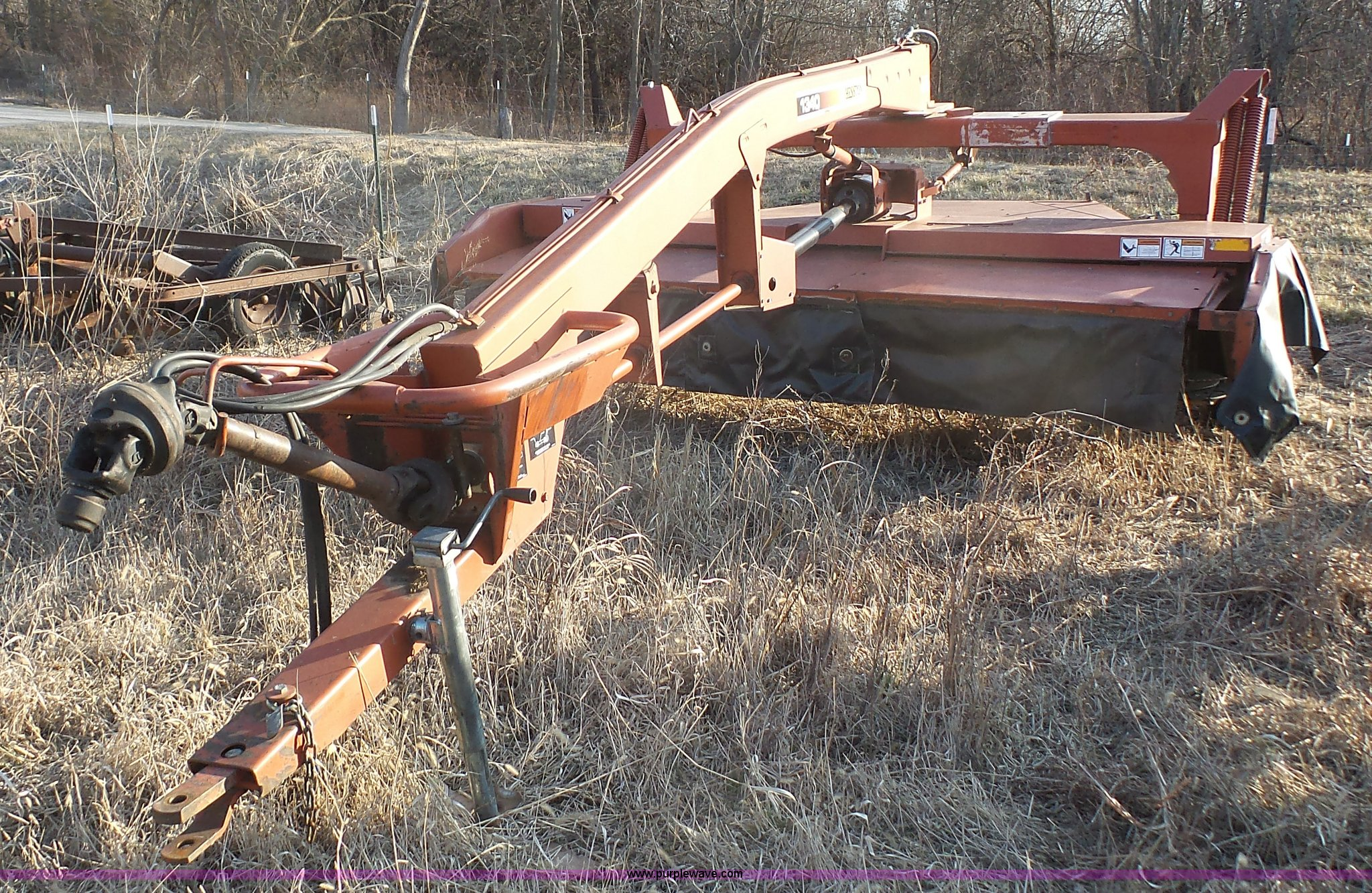 hesston 1340 windrower item j4683 sold march 16 ag equi rh purplewave com Hesston 1340 Specifications Hesston Discbine