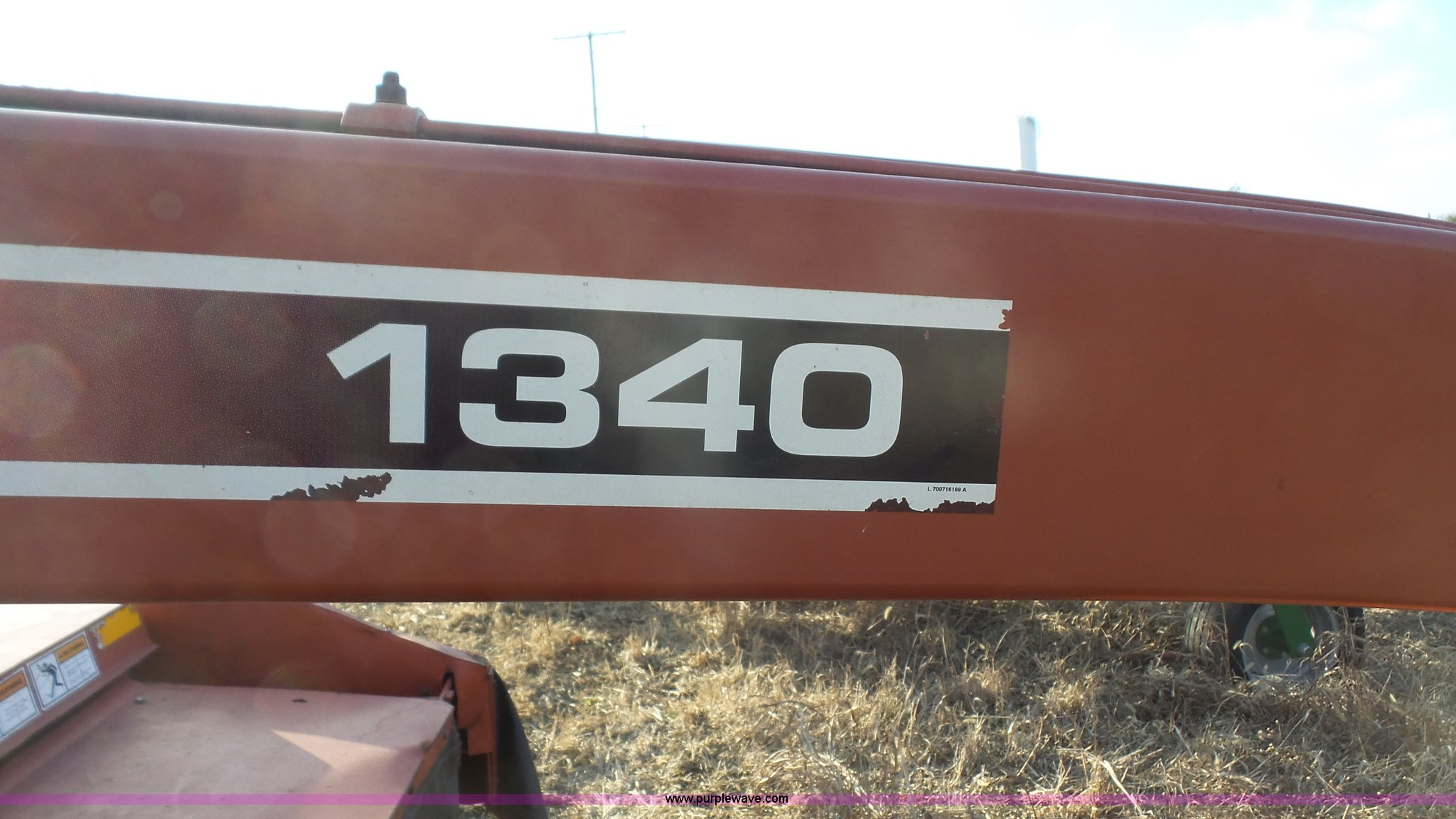 Hesston 1340 manual