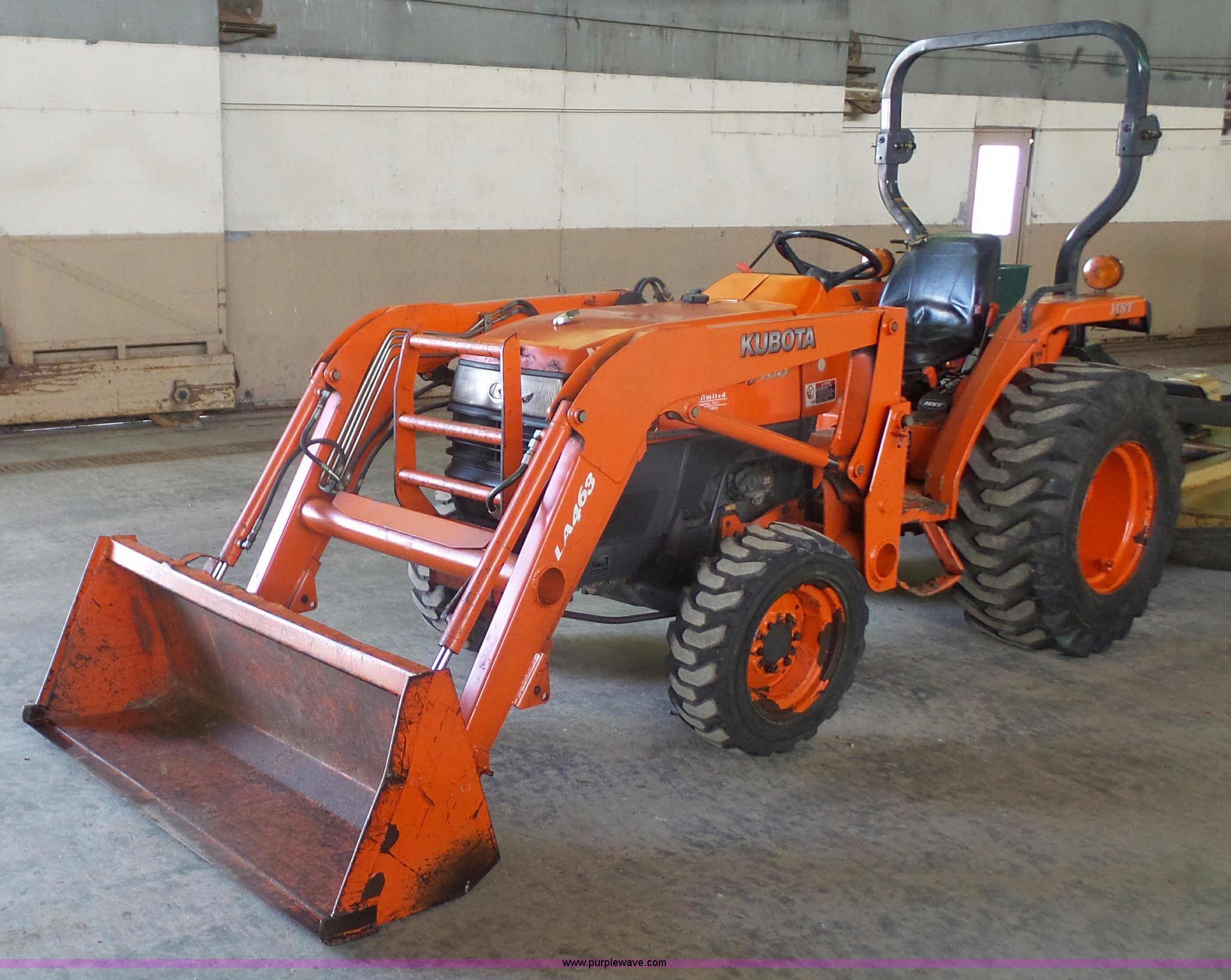 2007 Kubota L3400D MFWD tractor | Item J4688 | SOLD! March 1