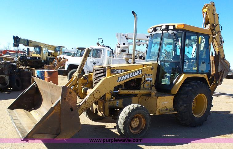 1994 John Deere 310D Backhoe Item J6234 SOLD March 17 C