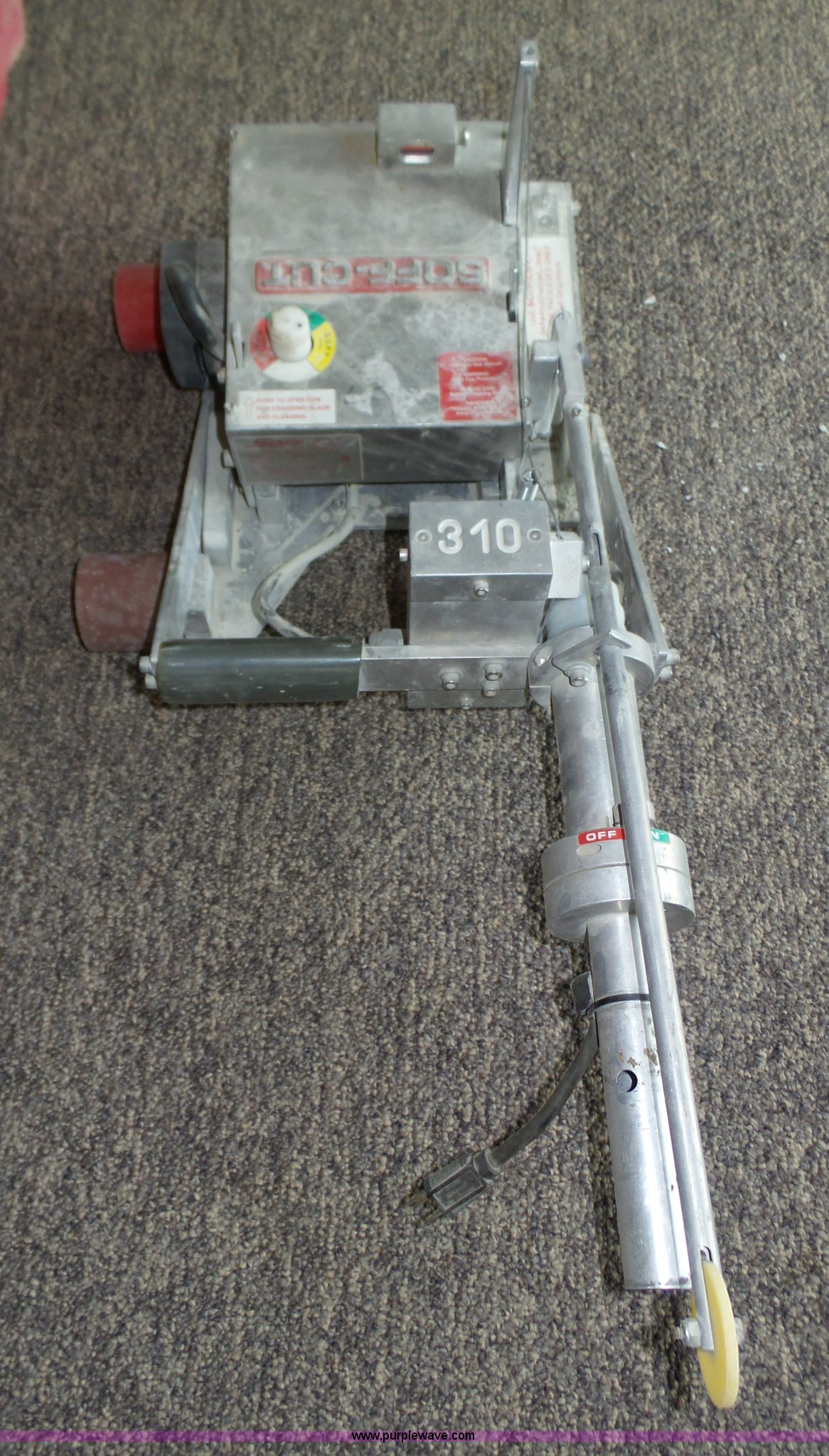 Soff Cut 310 Early Entry Concrete Saw Item Bx9020 Sold