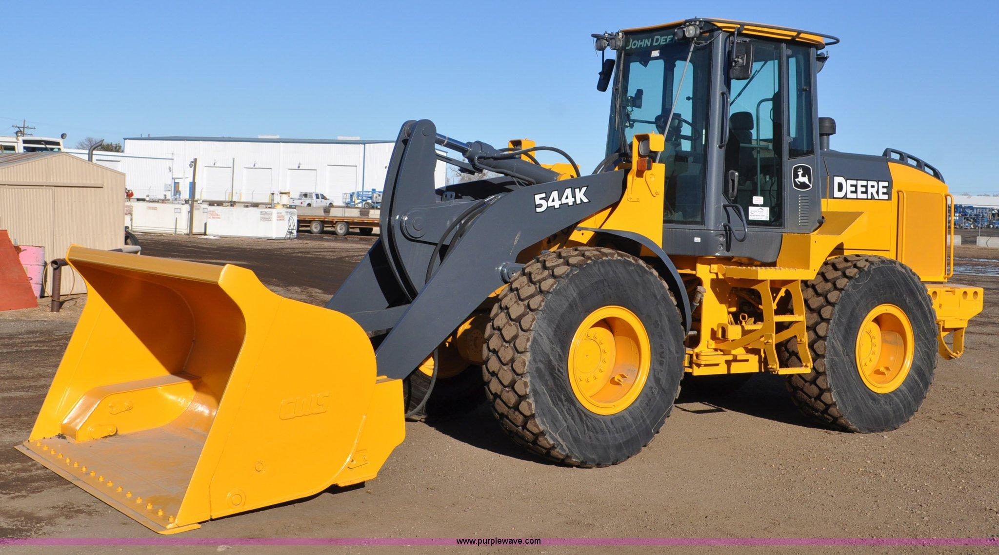 2011 John Deere 544k Wheel Loader Item G7235 Sold