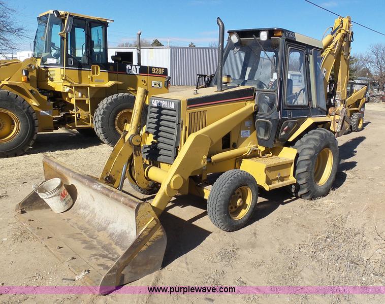 1994 Caterpillar 416B Backhoe Item J6824 SOLD March 22