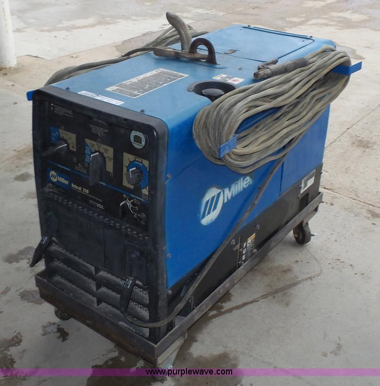 Miller Welders For Sale >> Miller Bobcat 250 Welder Generator Item Bf9091 Sold Mar