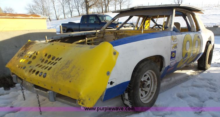 1985 Buick Regal race car frame | Item J8816 | SOLD! March 2...