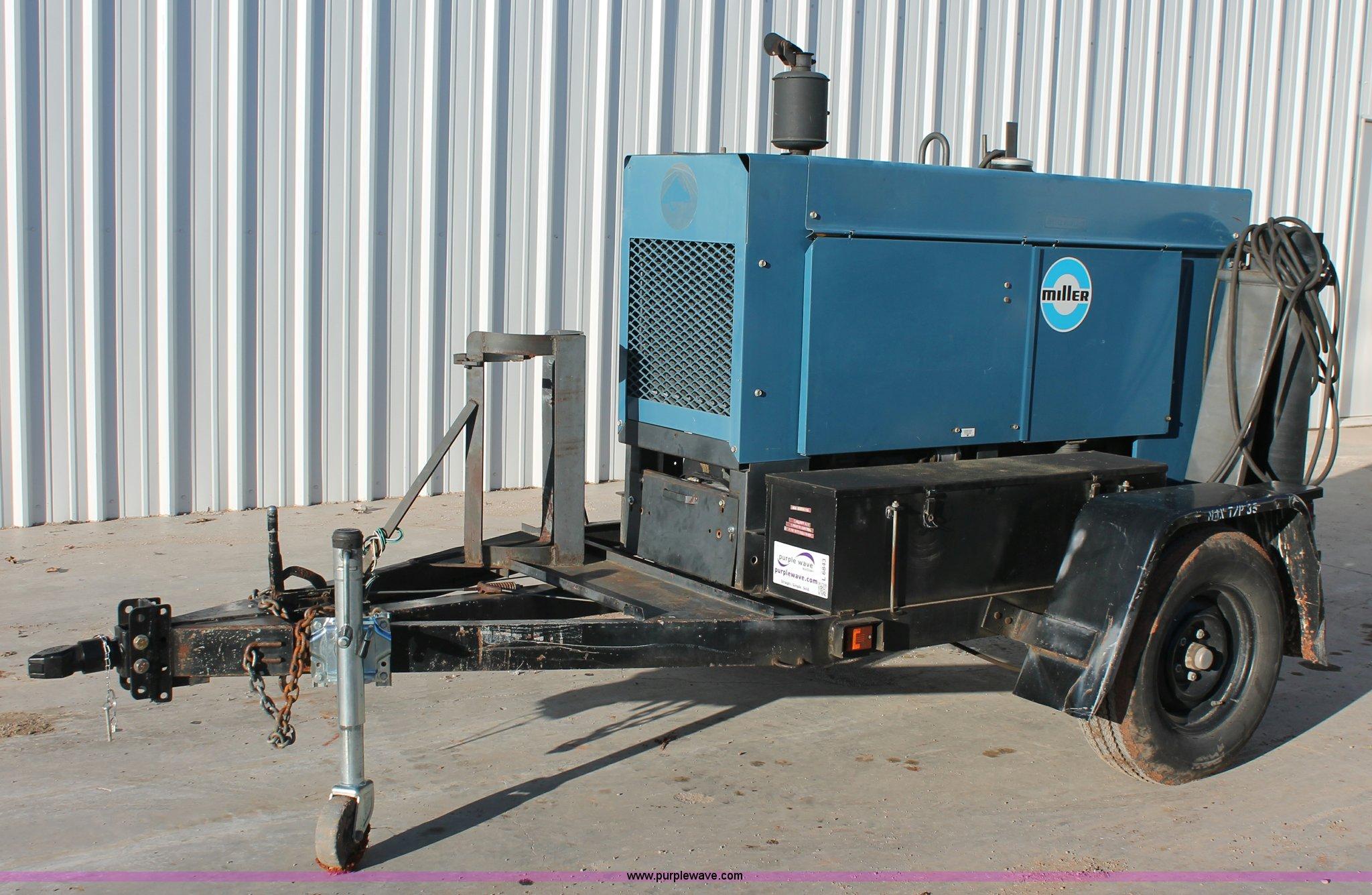 Miller Trailblazer 44d Constant Current Ac Dc Arc Welder Gen Constantcurrent Generator Full Size In New Window
