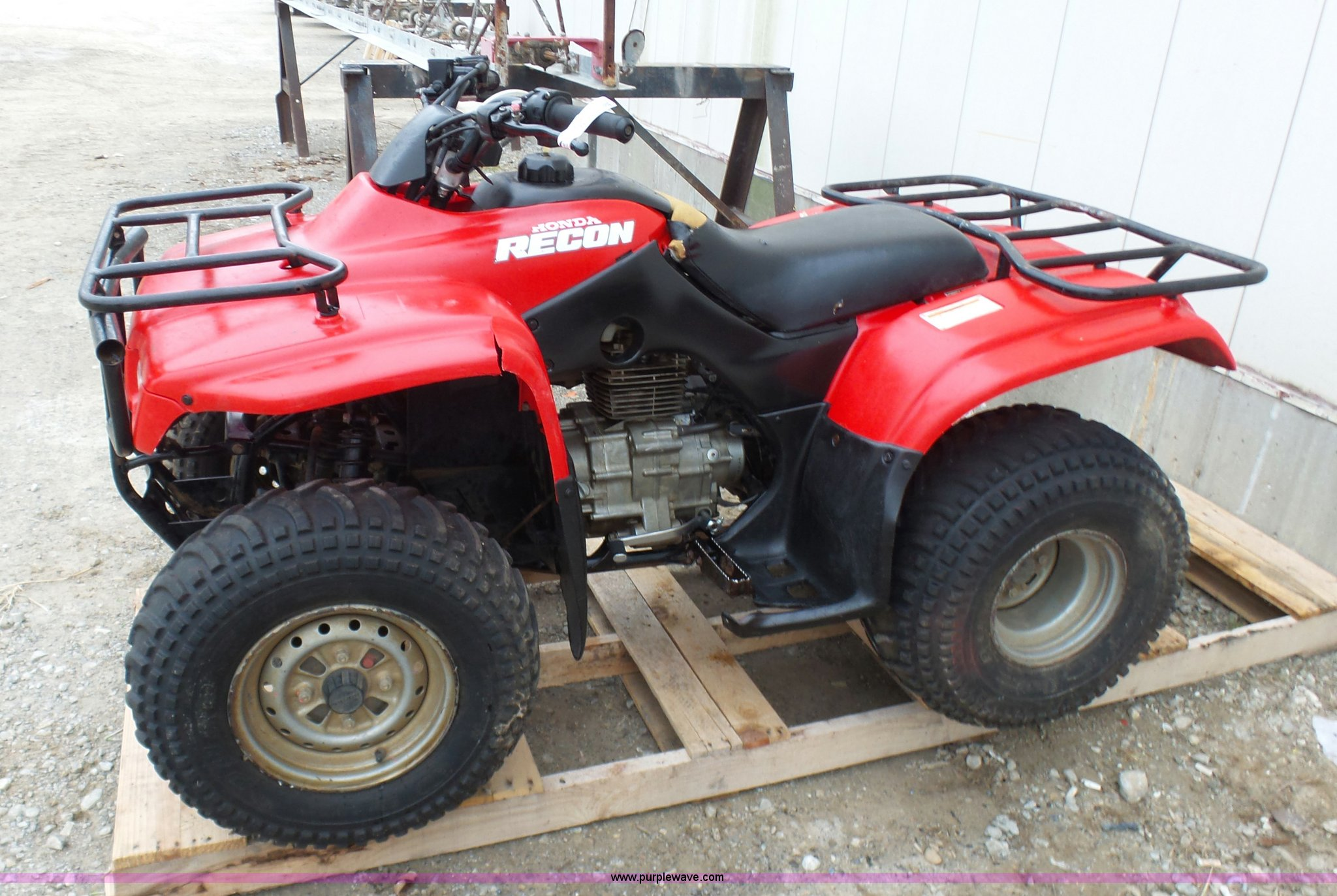 atv honda march window auction item full sold ve size recon new in