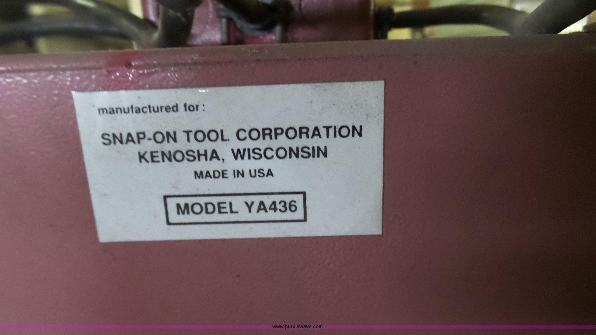 1999 Snap-on YA436 sand blast cabinet | Item BF9057 | SOLD!