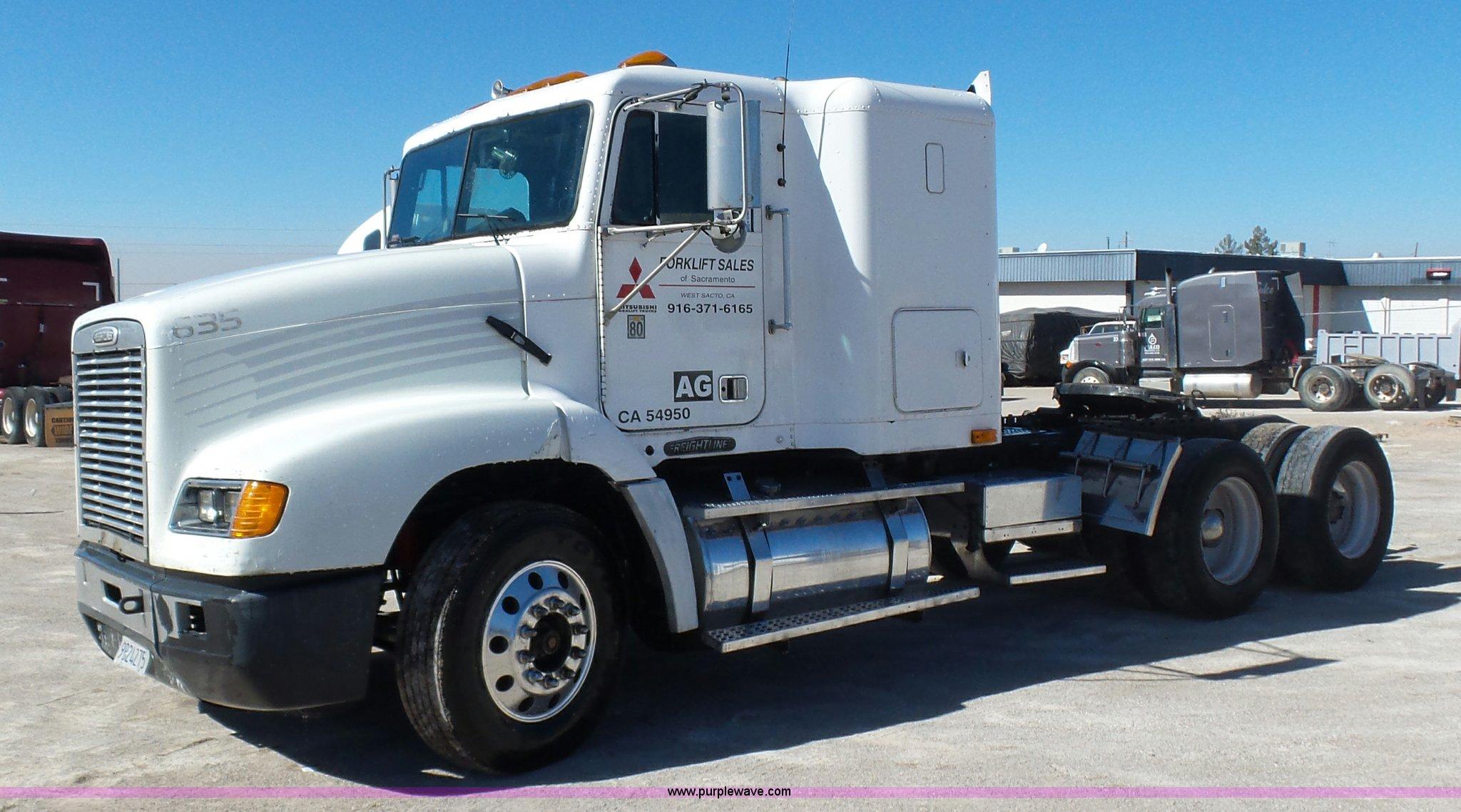 1996 freightliner fld112 semi truck in el paso tx item k5760 sold purple wave 1996 freightliner fld112 semi truck in