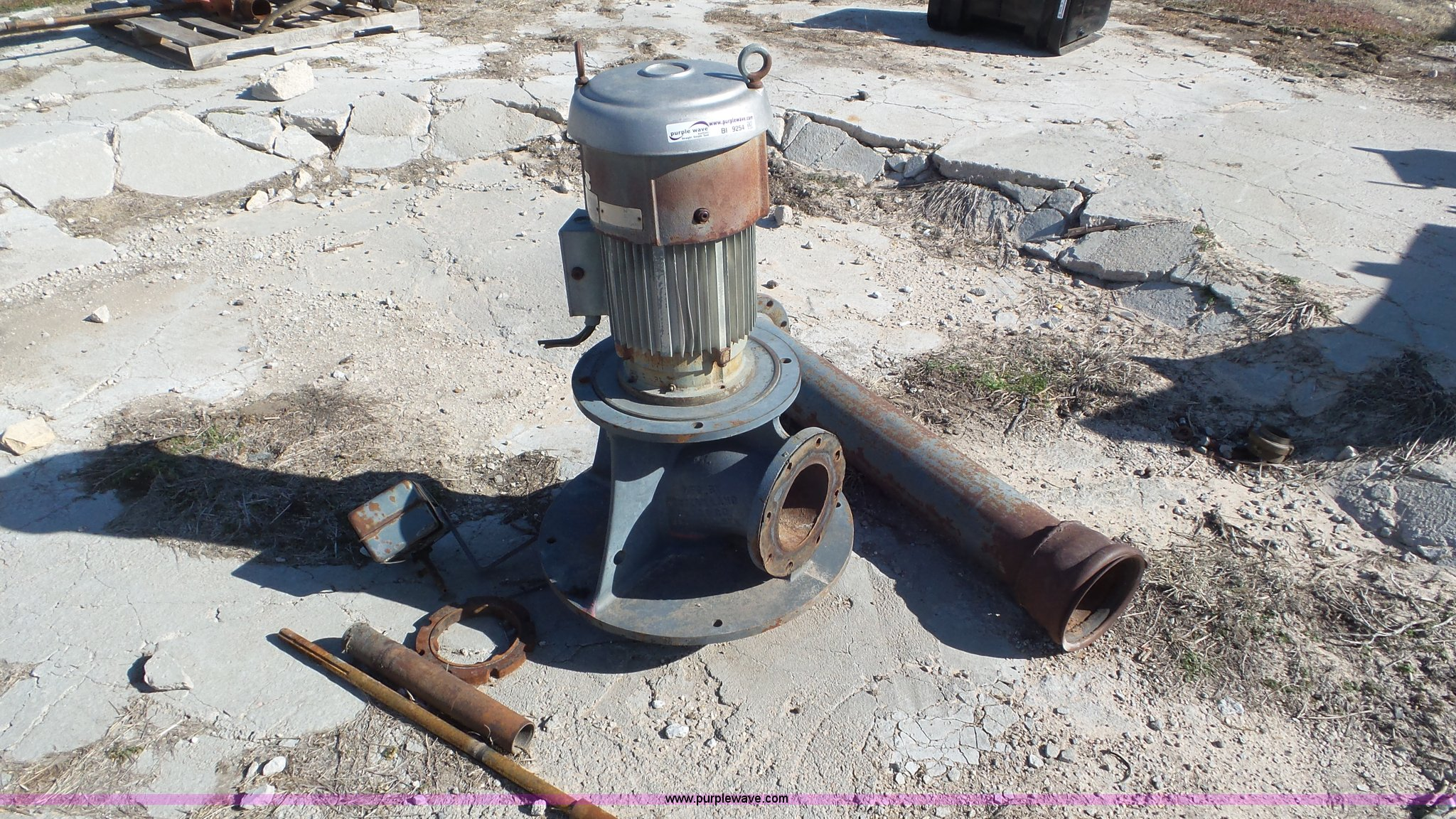 Western Land roller electric irrigation pump | Item BI9254 |