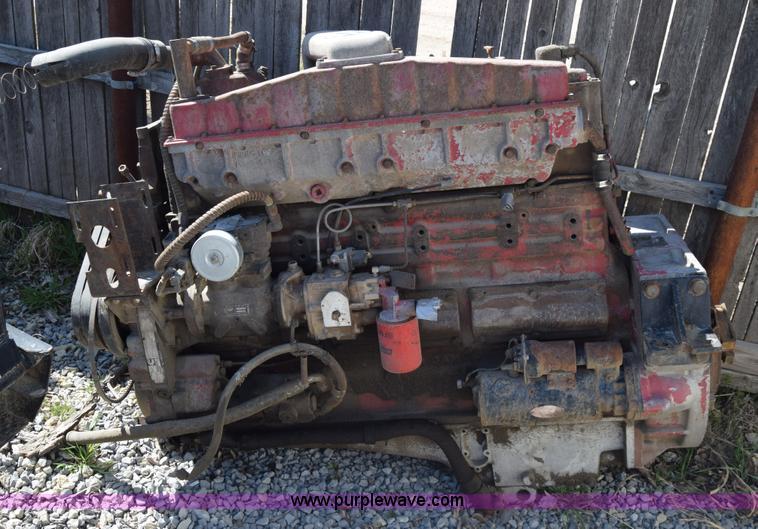 1980 Cummins NTC 350 Diesel Engine Item K4339 SOLD Marc