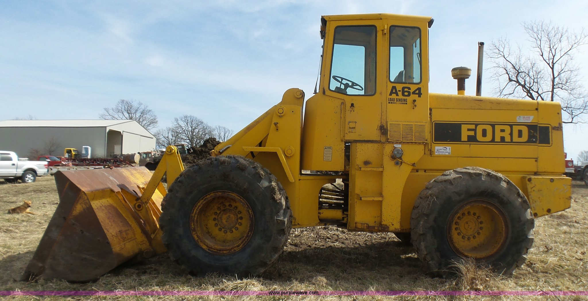 ford a64 wheel loader full size in new window