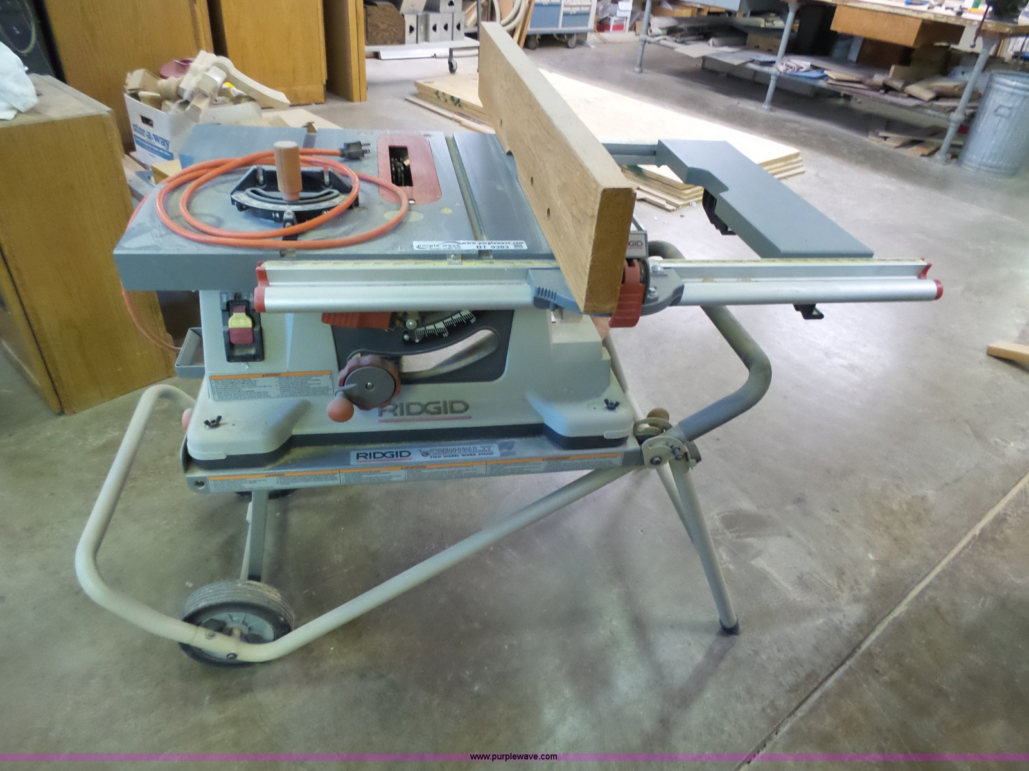 Ridgid ts24000 table saw item bt9383 sold april 5 gover bt9383 image for item bt9383 ridgid ts24000 table saw greentooth Images