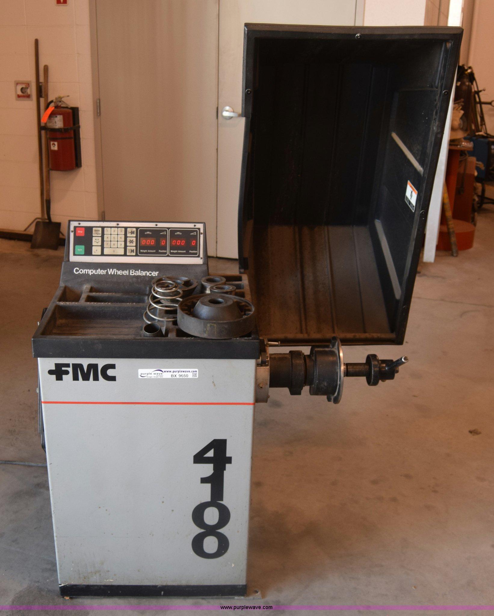 BX9650 image for item BX9650 FMC 4100 tire balancer