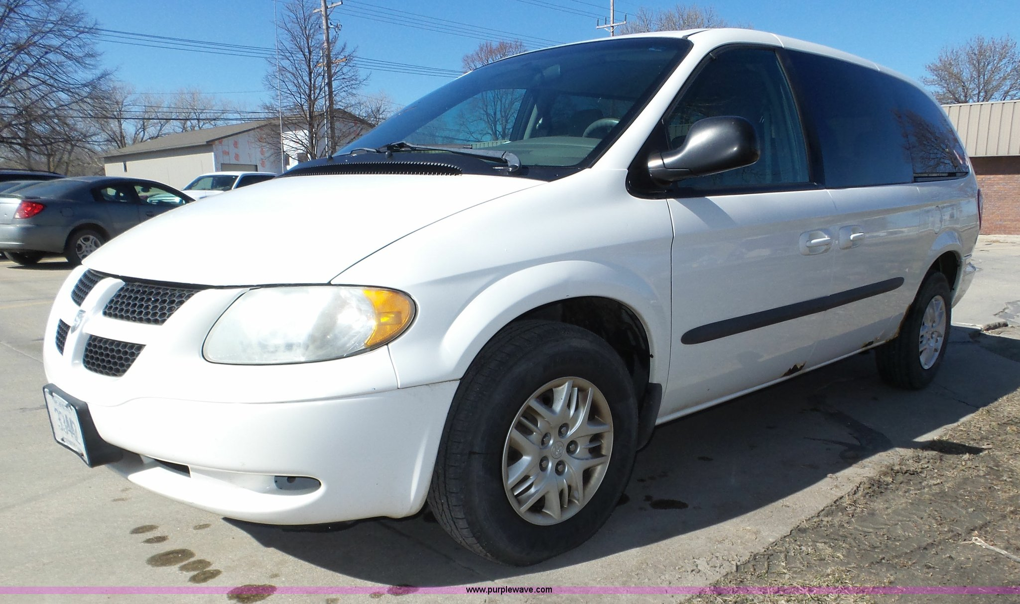 2003 Dodge Grand Caravan Sport Van Item J8896 Sold Apri Image For