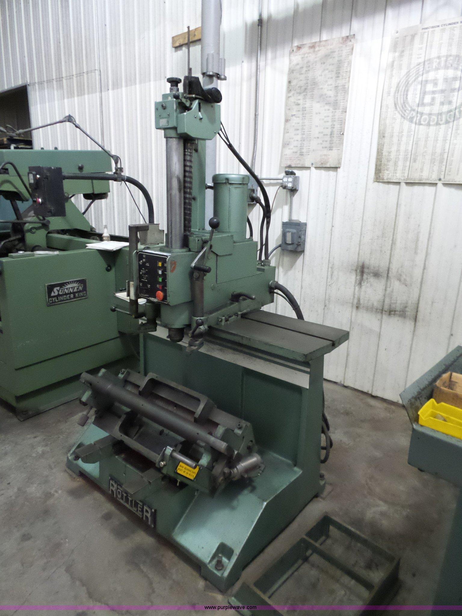 Rottler FA2EB boring machine | Item CD9765 | SOLD! April 6 V