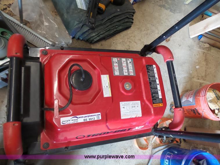 Troy-Bilt XP generator | Item BE9912 | SOLD! April 14 Constr