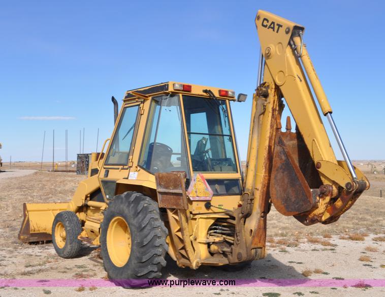 1986 Caterpillar 416 backhoe | Item G7018 | SOLD! April 14 C