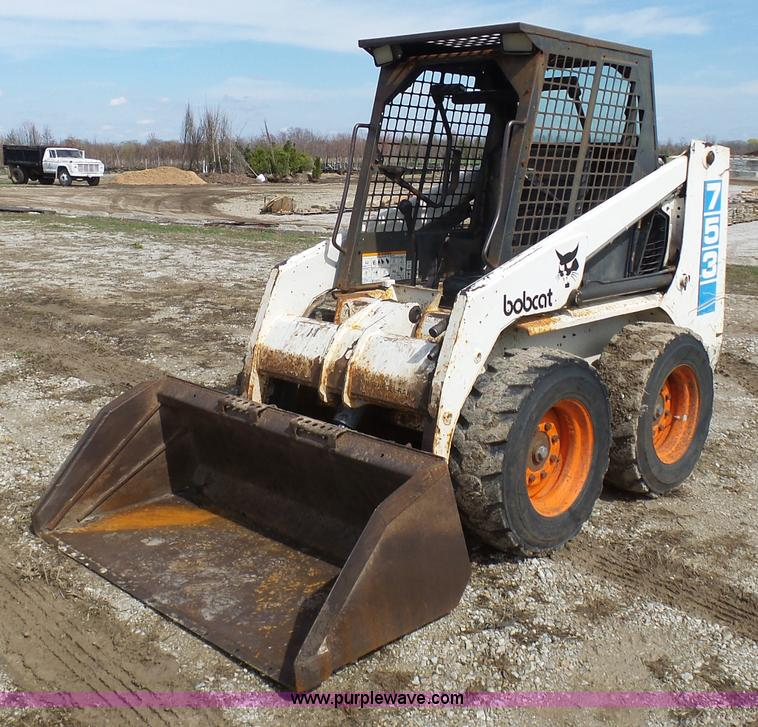 1991 Bobcat 753 Skid Steer Item K4290 Sold April 14 Con