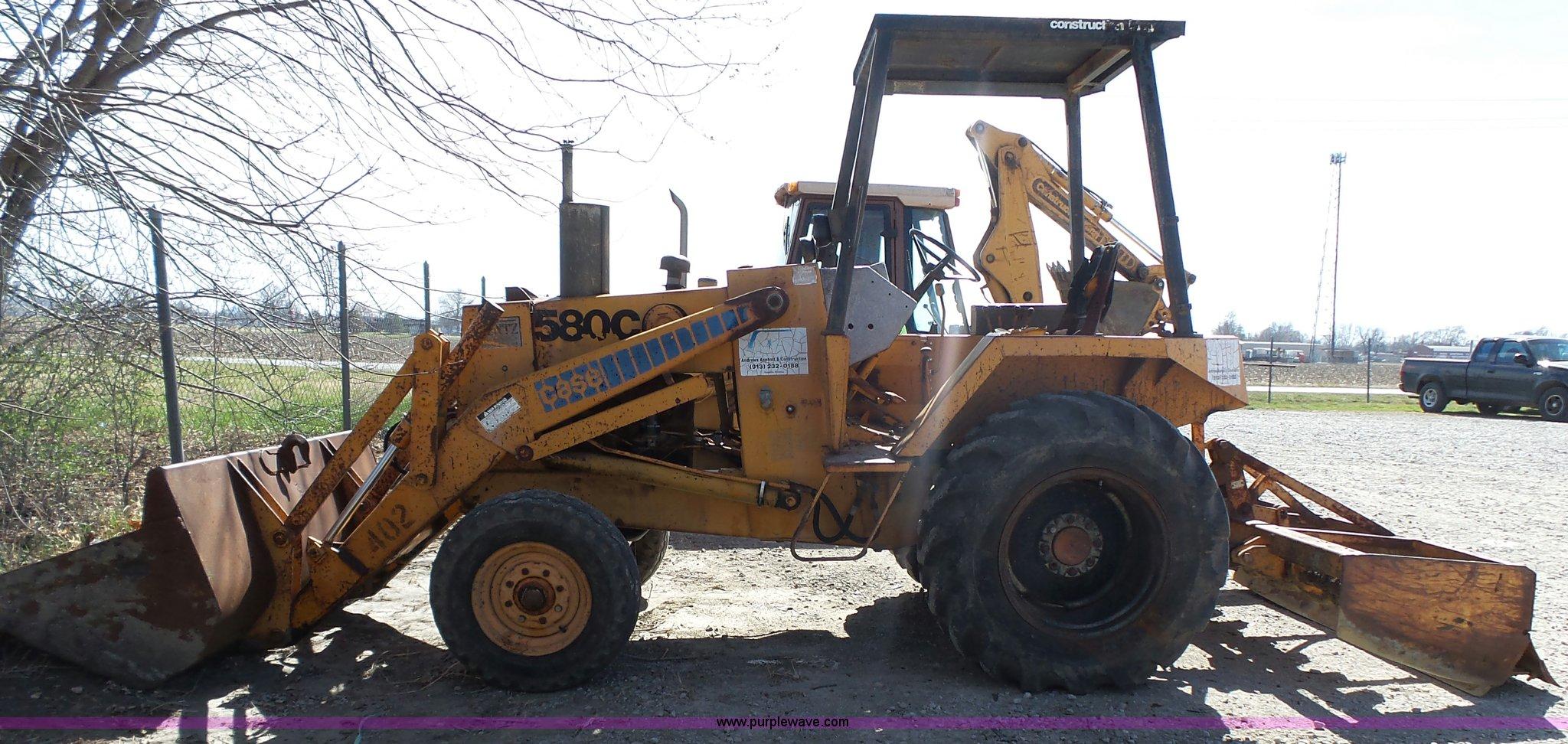 1979 Case 580c Construction King Landscape Tractor