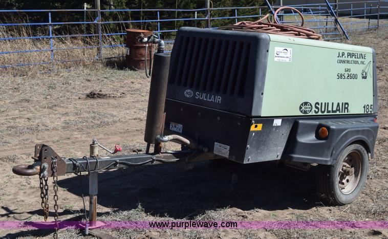 Sullair 185 air compressor | Item K8606 | SOLD! April 14 JP ... on