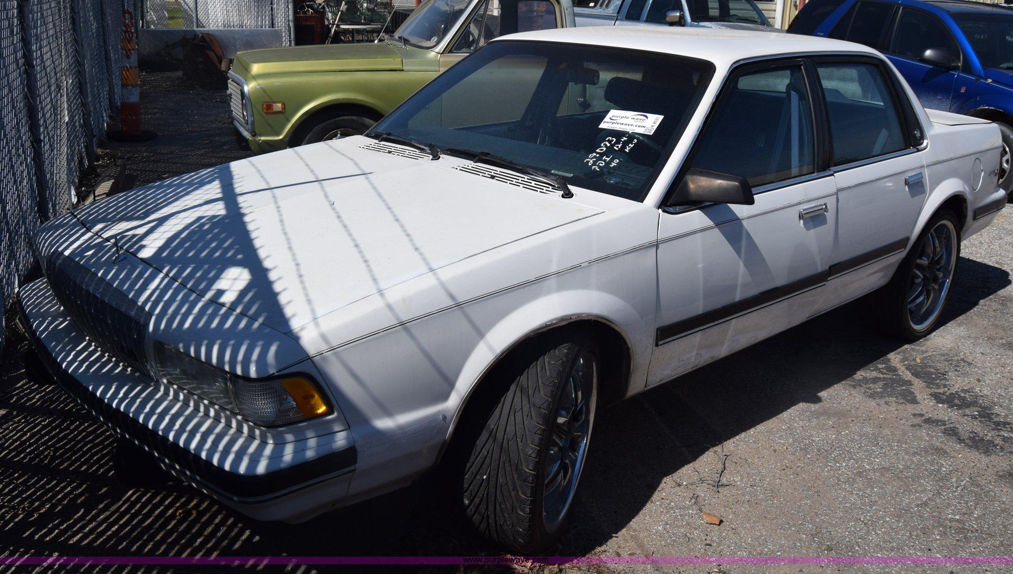 K8531 image for item k8531 1991 buick century custom