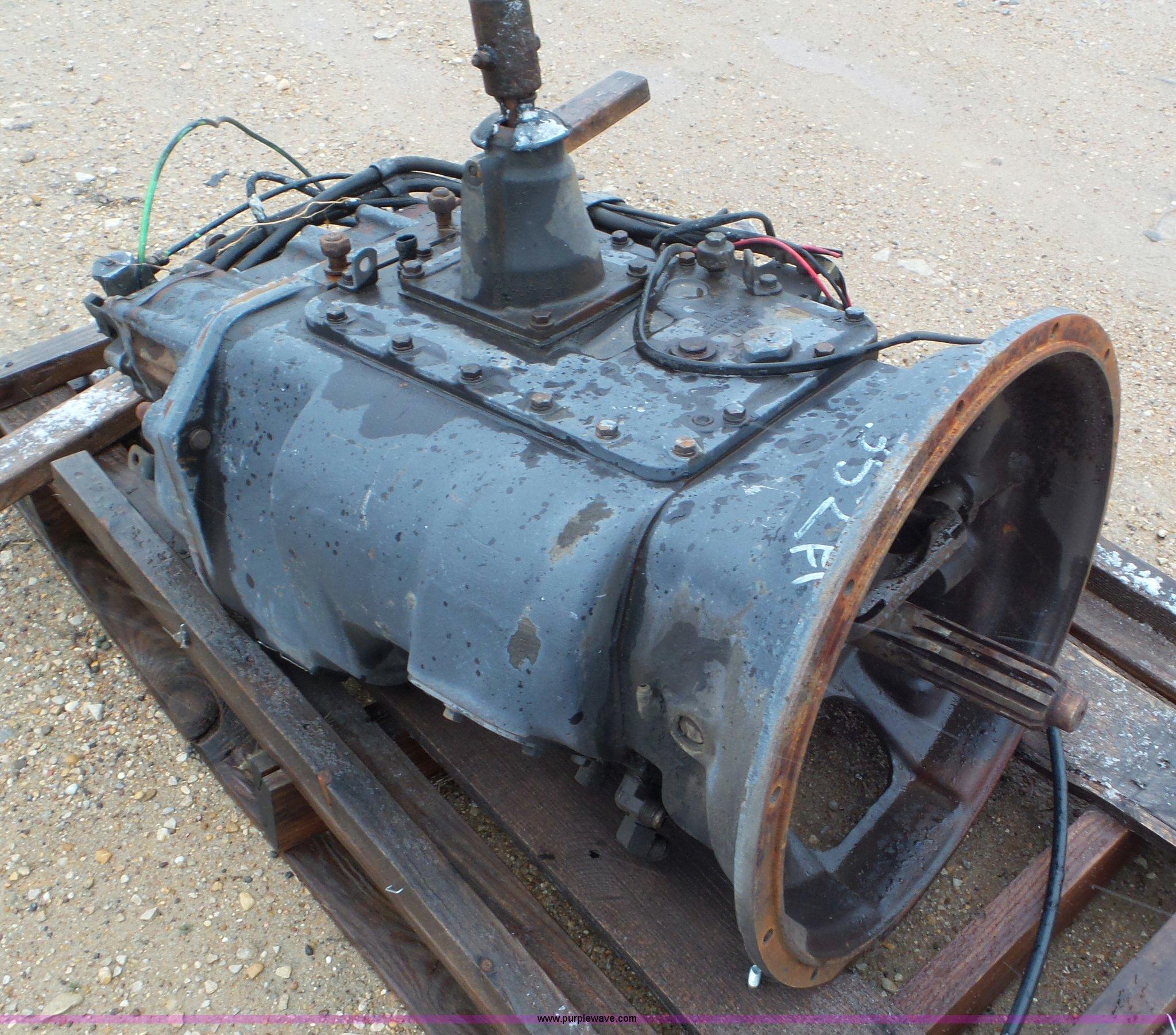 Array - eaton fuller 13 speed manual transmission   item av9803   so     rh   purplewave com