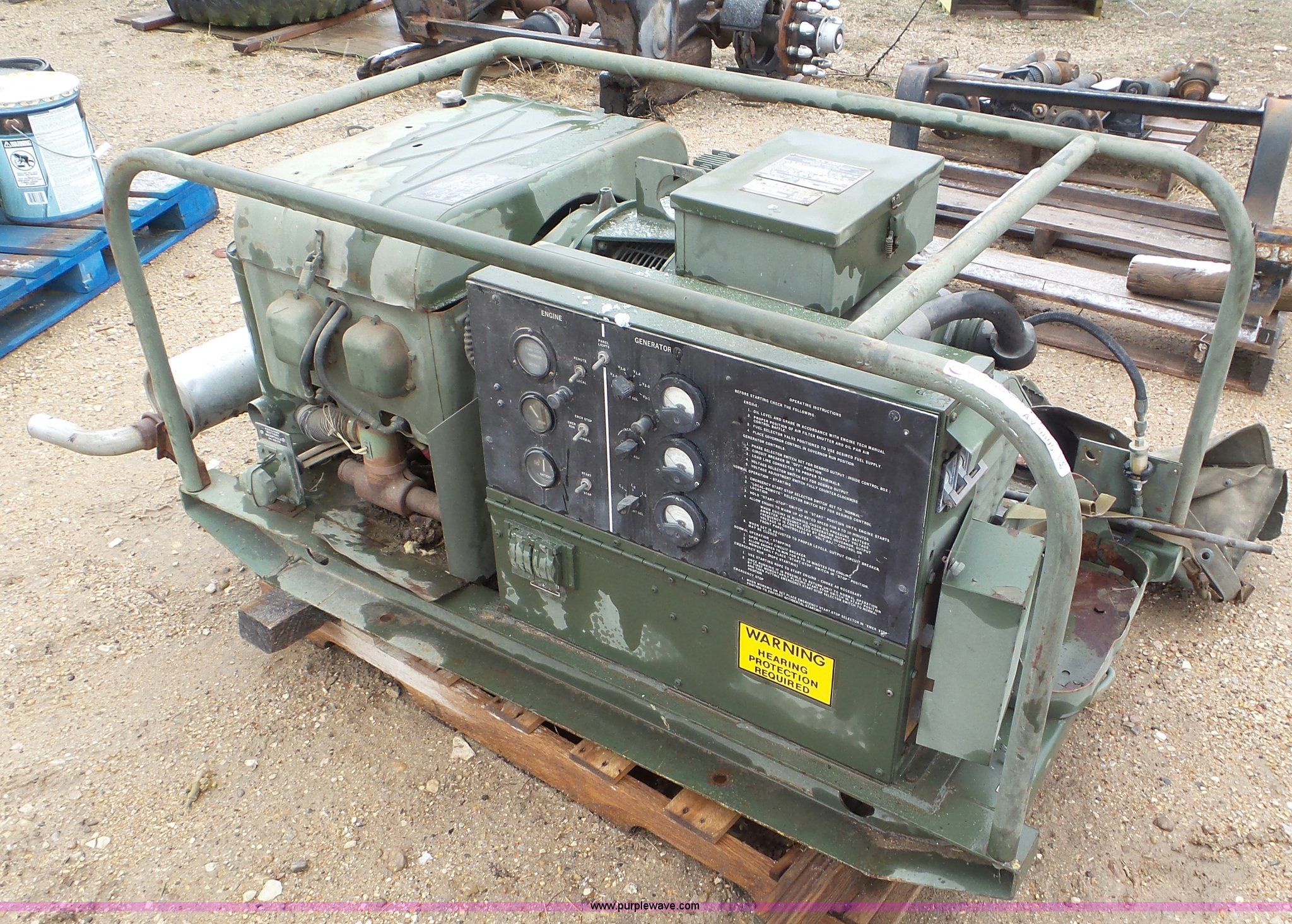 1968 U S  Army generator | Item AV9805 | SOLD! April 20 Vehi