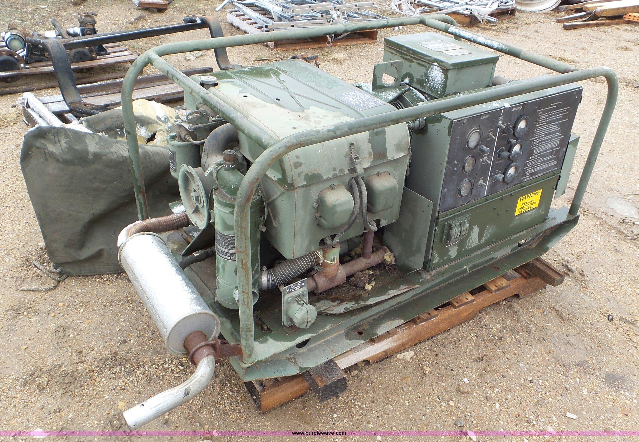 1968 U S  Army generator | Item AV9805 | SOLD! April 20 Vehi