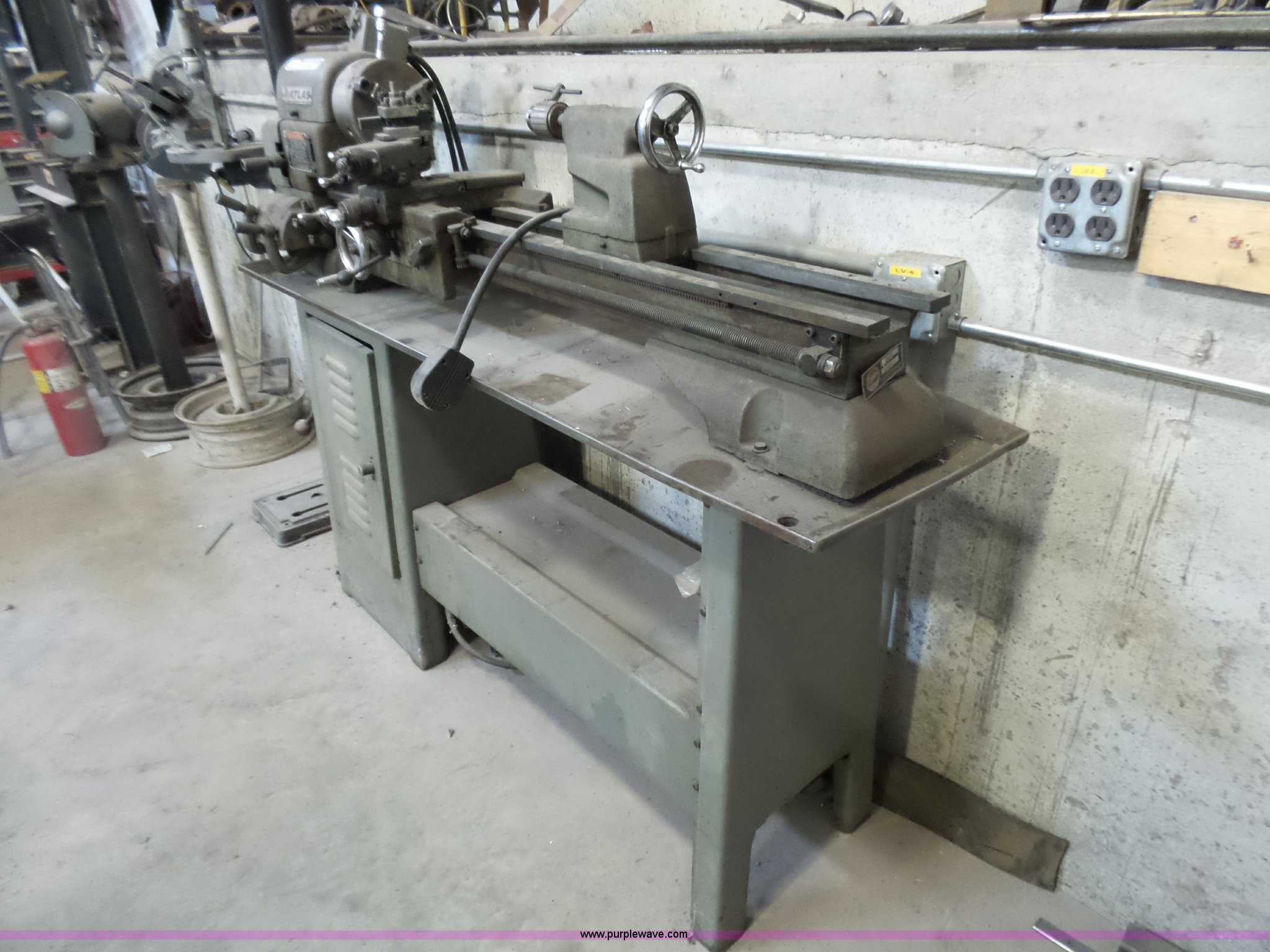 Atlas 3996 lathe | Item BG9063 | SOLD! April 20 Vehicles and