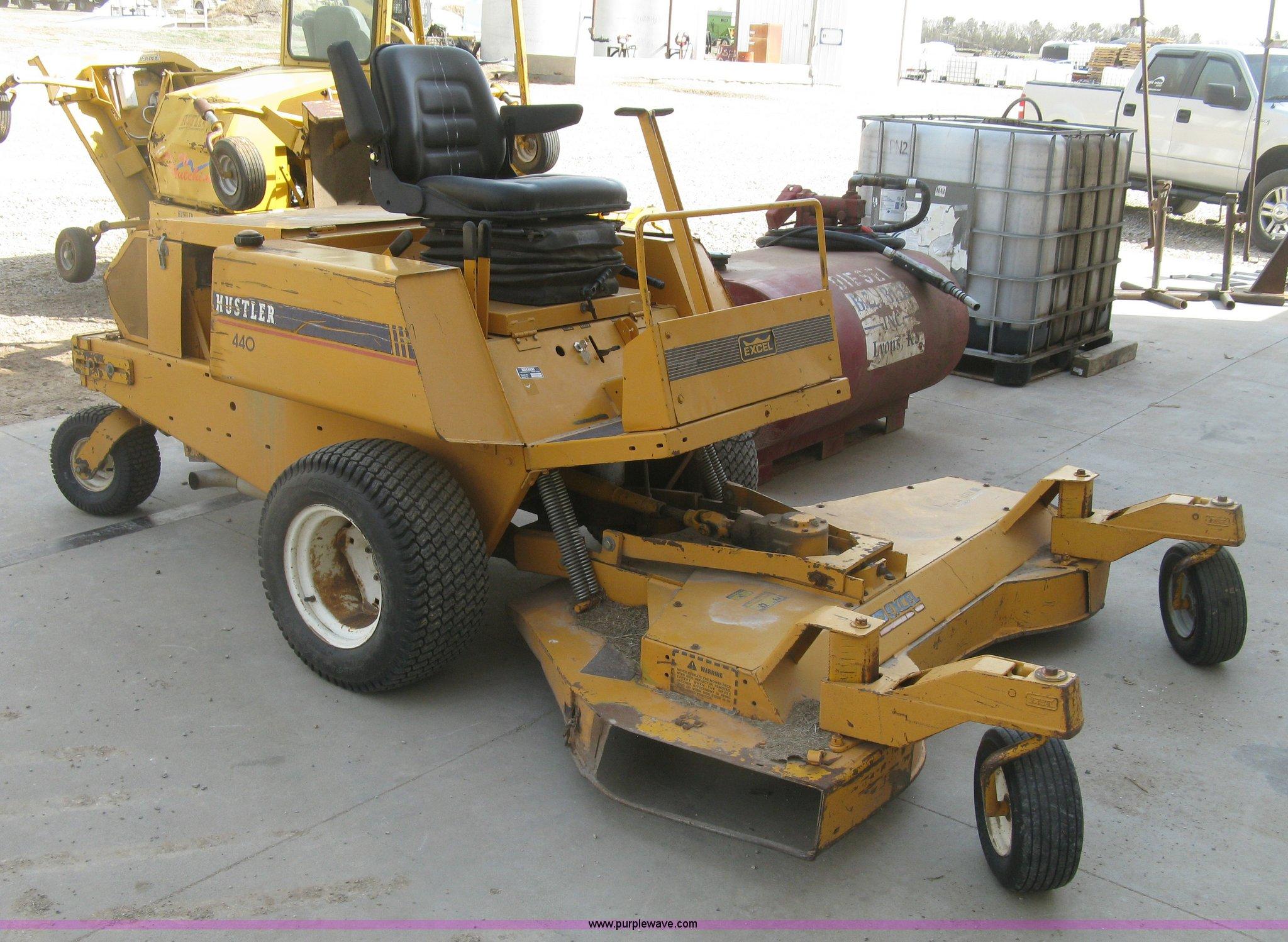 Hustler 440 lawn tractor
