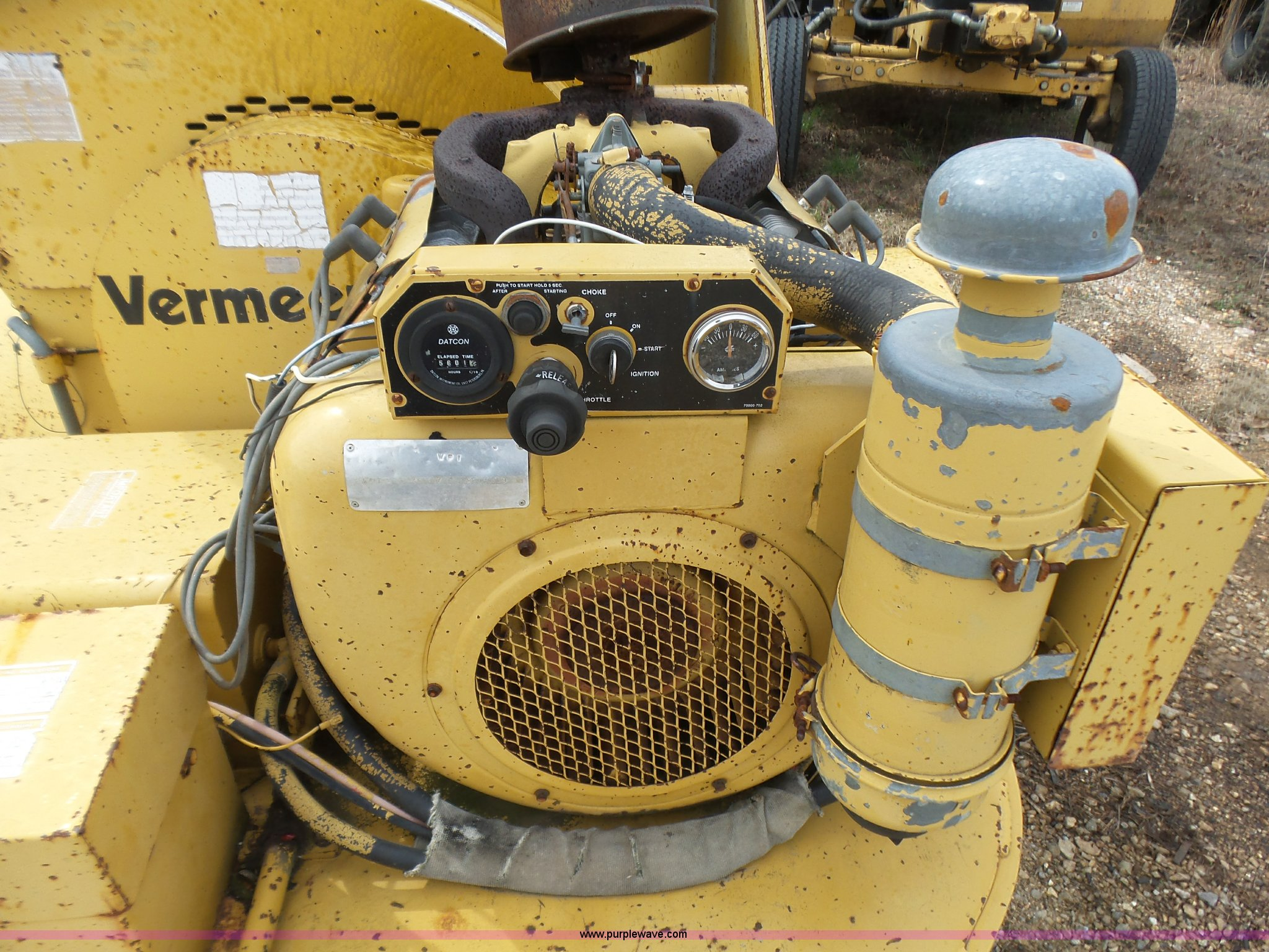 Vermeer 935 wood chipper | Item L5461 | SOLD! April 20 Vehic