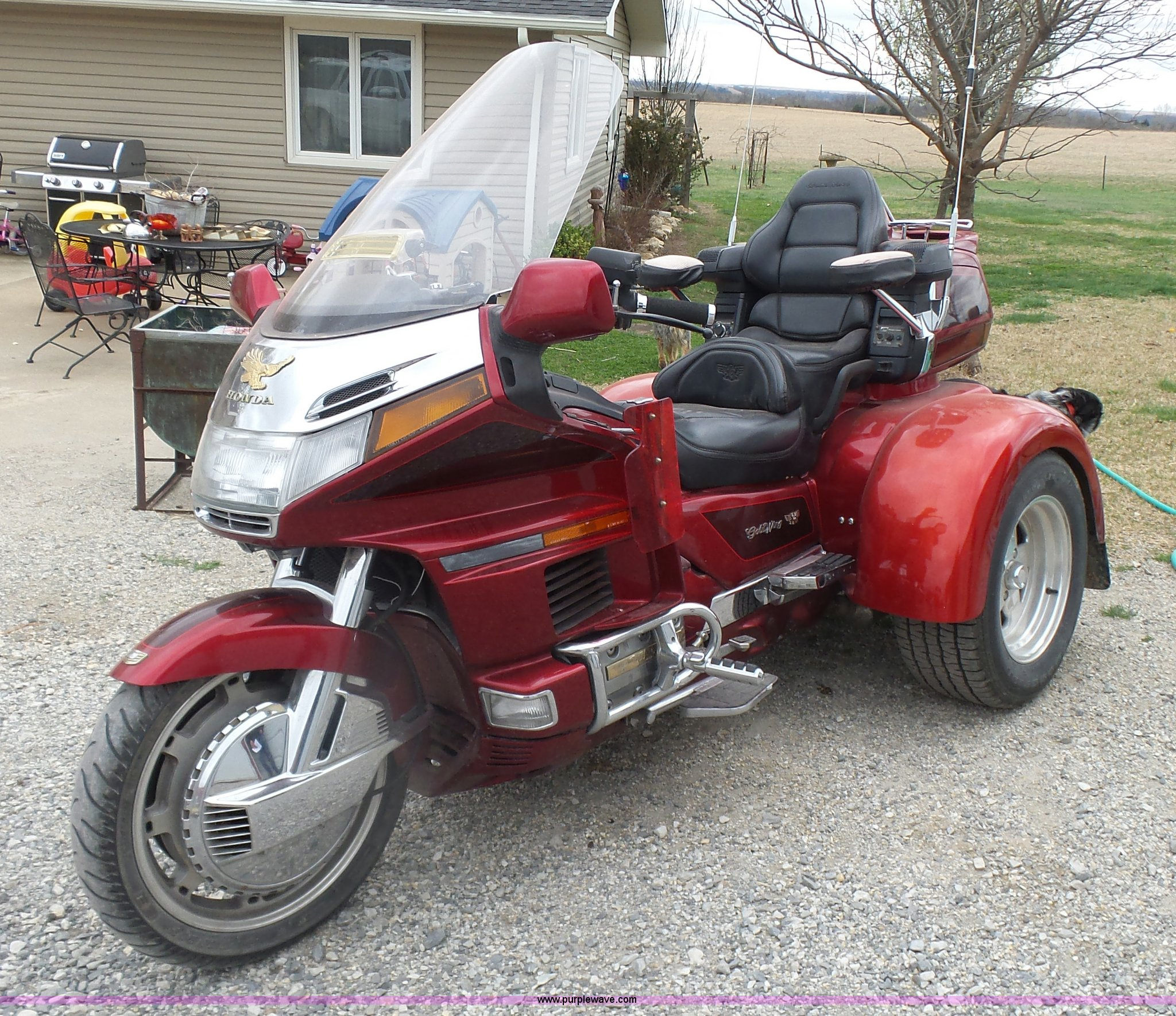 L7359 image for item L7359 1997 Honda Gold Wing GL1500SE trike motorcycle